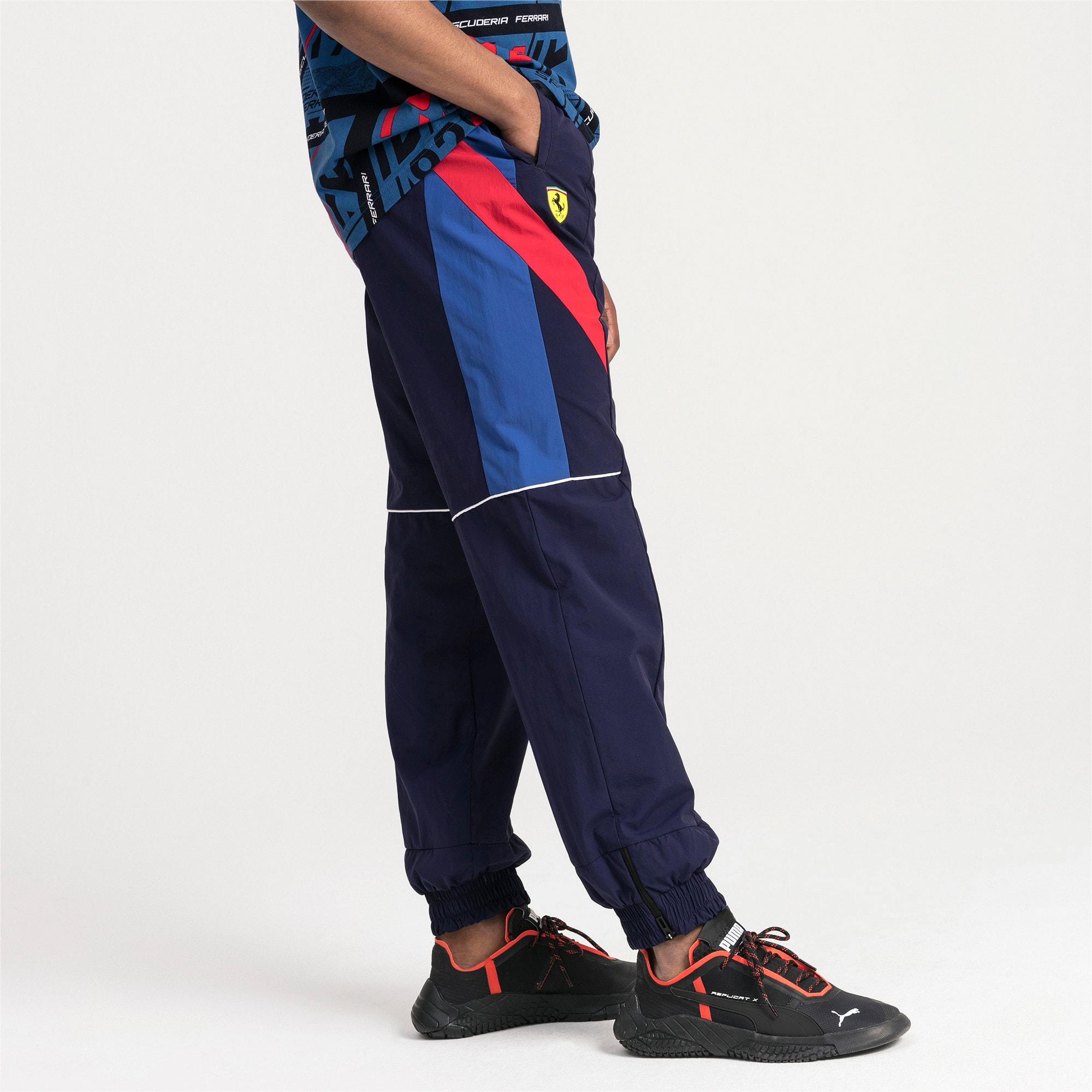 Thumbnail 1 of Ferrari Street Woven Men's Pants, Galaxy Blue, medium