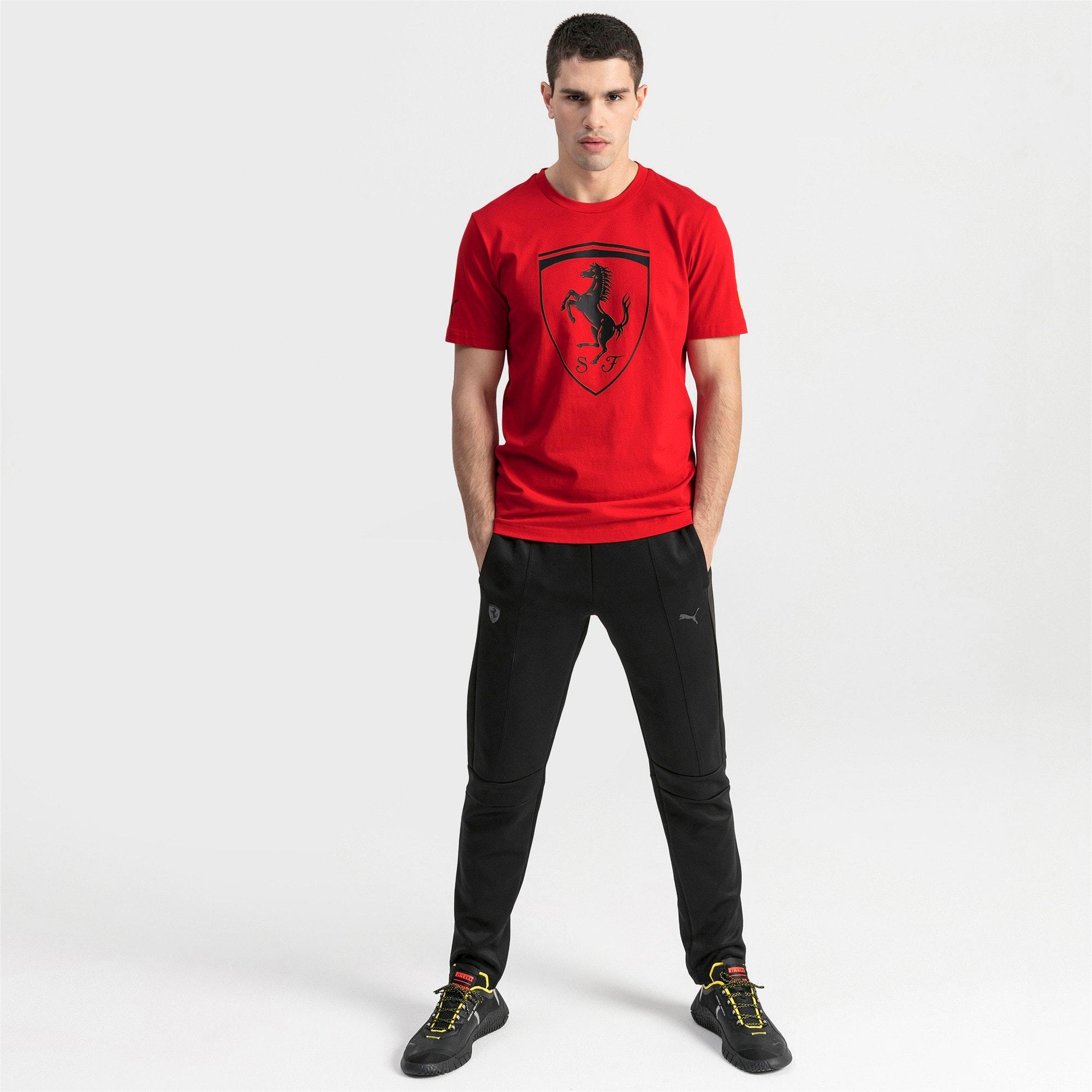 Thumbnail 3 of T-shirt Ferrari Big Shield uomo, Rosso Corsa, medium