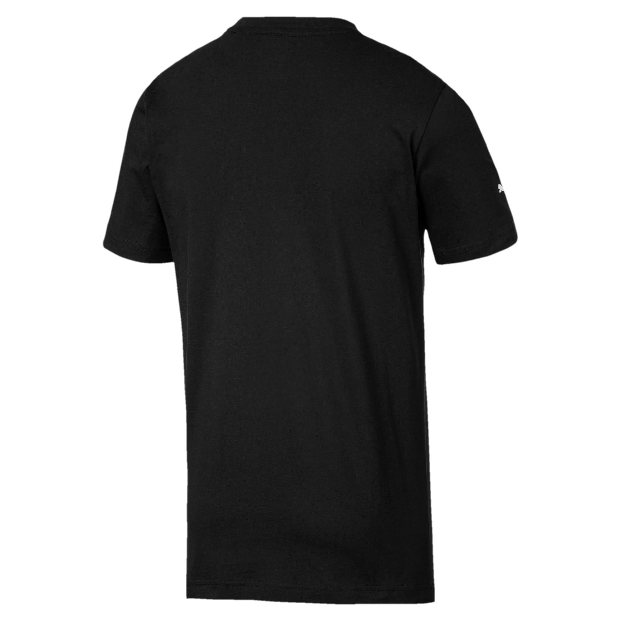 Thumbnail 5 of T-shirt Ferrari Big Shield uomo, Puma Black, medium
