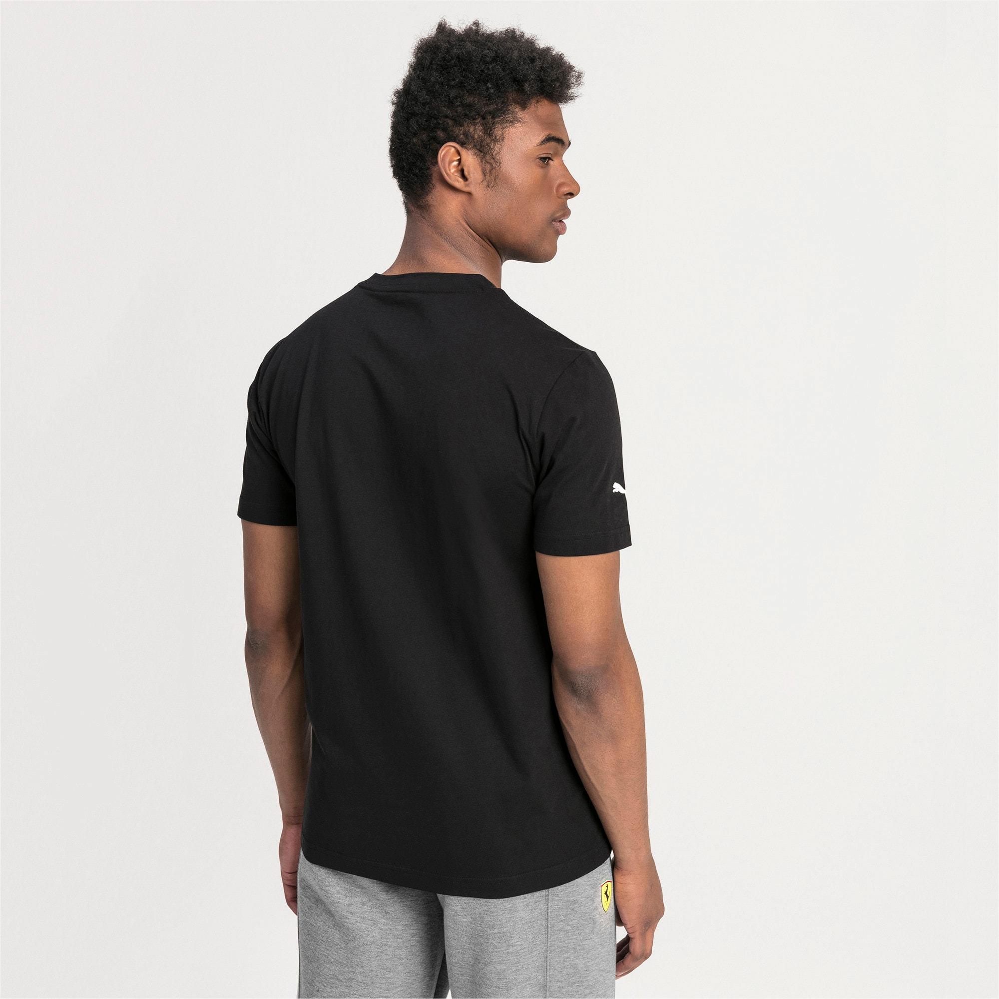 Thumbnail 2 of T-shirt Ferrari Big Shield uomo, Puma Black, medium