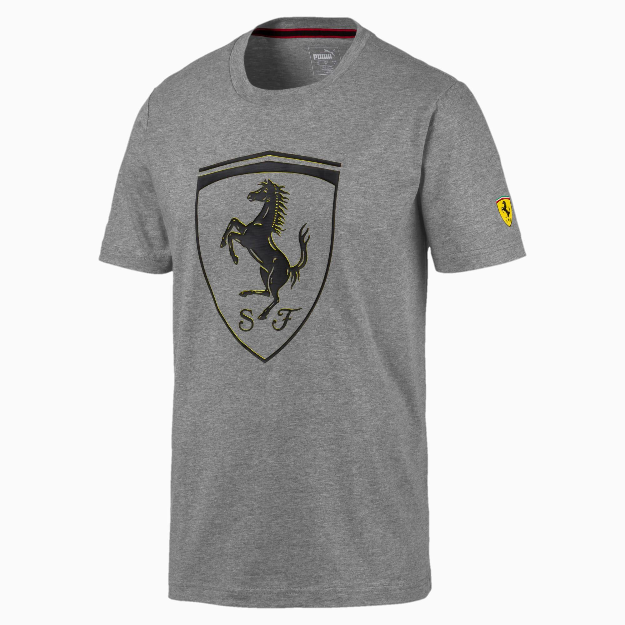 Ferrari Big Shield Herren T Shirt Puma Scuderia Ferrari Puma Deutschland