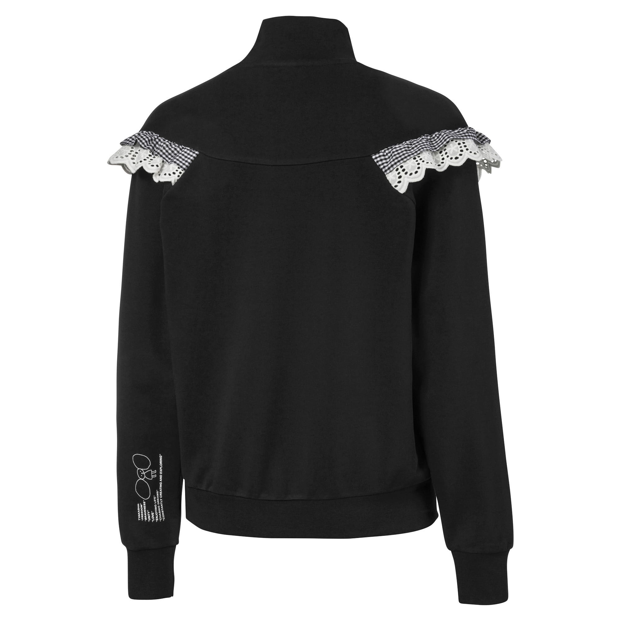 Thumbnail 5 of PUMA x TYAKASHA Women's Turtleneck Sweater, Cotton Black, medium