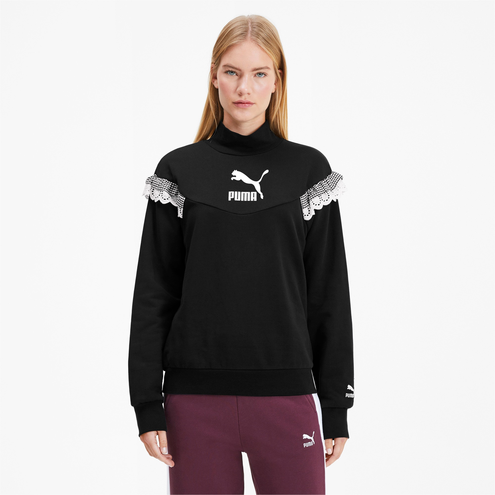 Thumbnail 2 van PUMA x TYAKASHA-damescoltrui, Cotton Black, medium