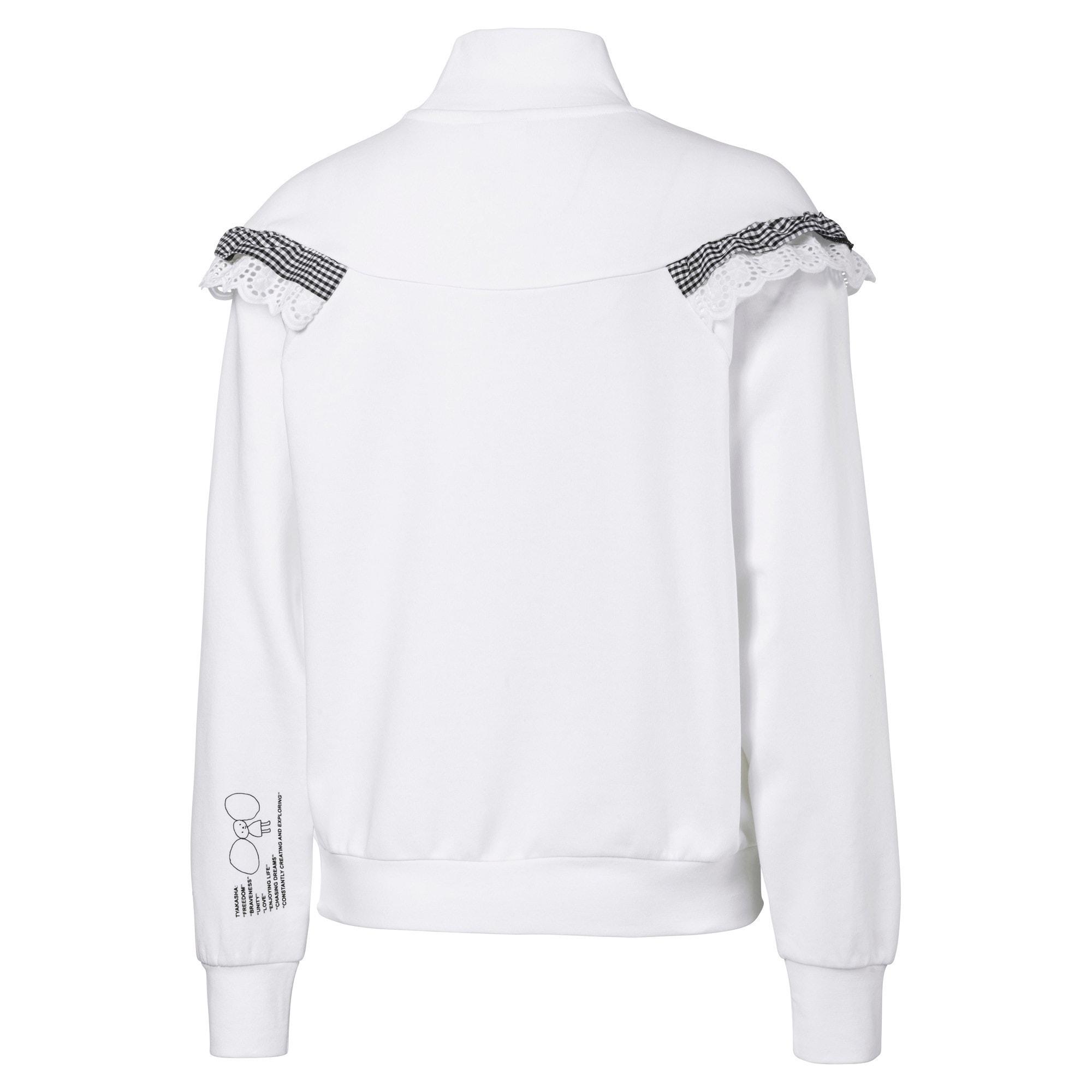 Thumbnail 5 of PUMA x TYAKASHA Women's Turtleneck Sweater, Puma White, medium