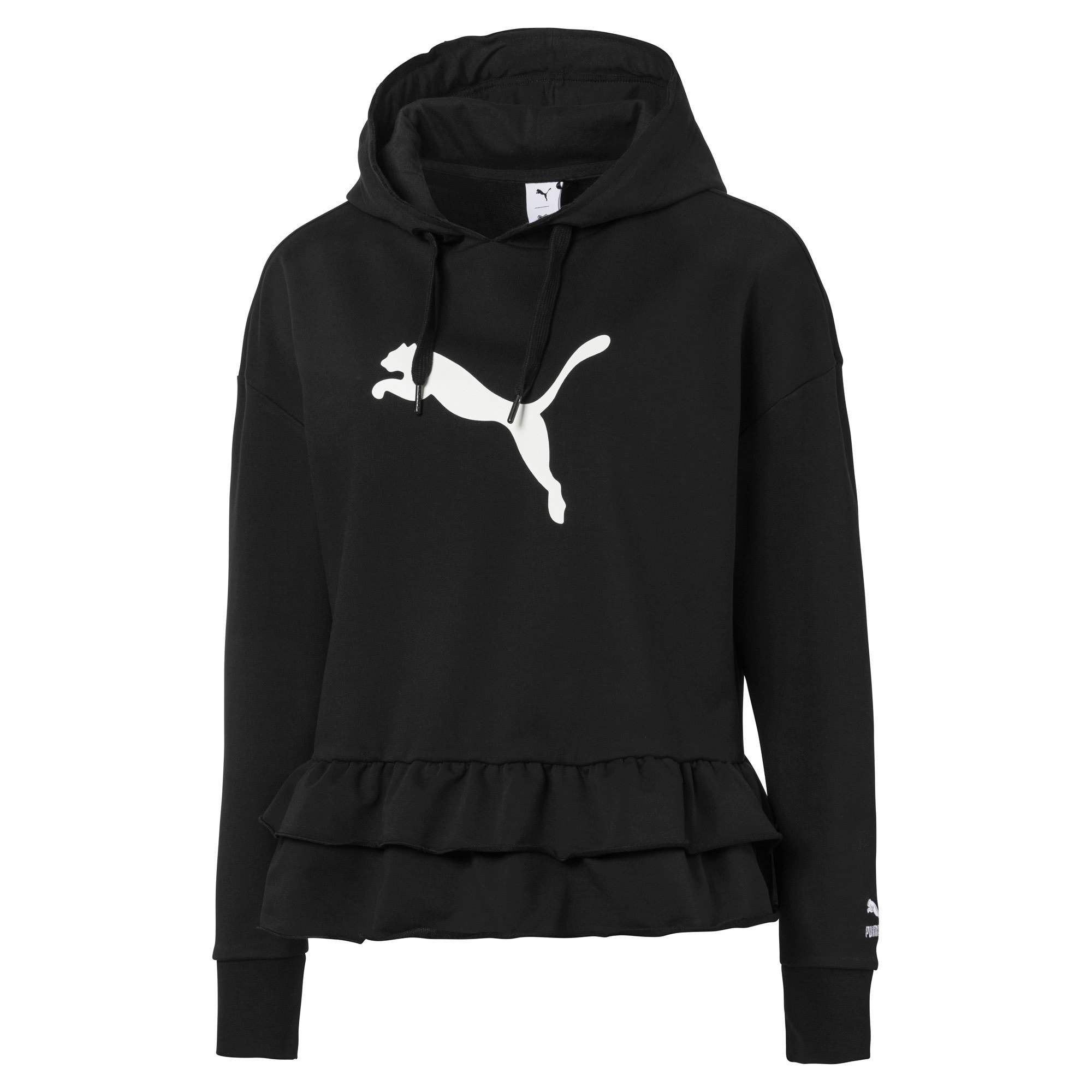 Thumbnail 1 of PUMA x TYAKASHA Women's Hoodie, Cotton Black, medium