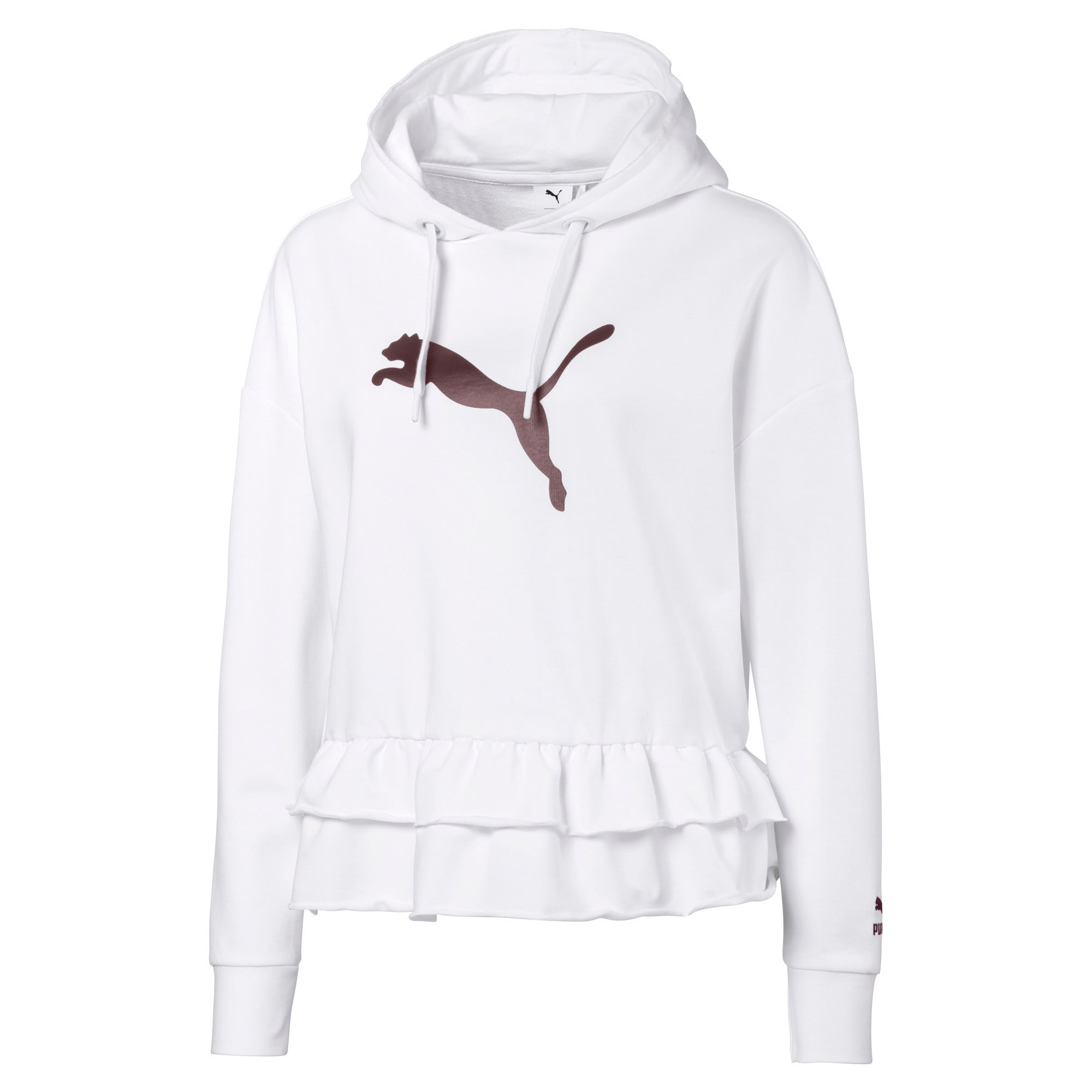 Thumbnail 1 of PUMA x TYAKASHA Women's Hoodie, Puma White, medium