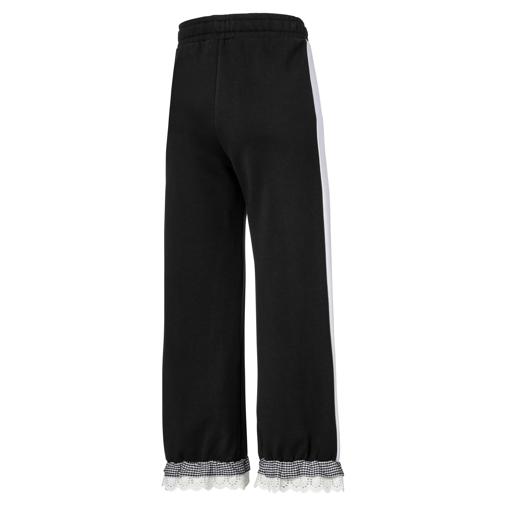 Thumbnail 5 of PUMA x TYAKASHA Knitted Women's Culottes, Cotton Black, medium