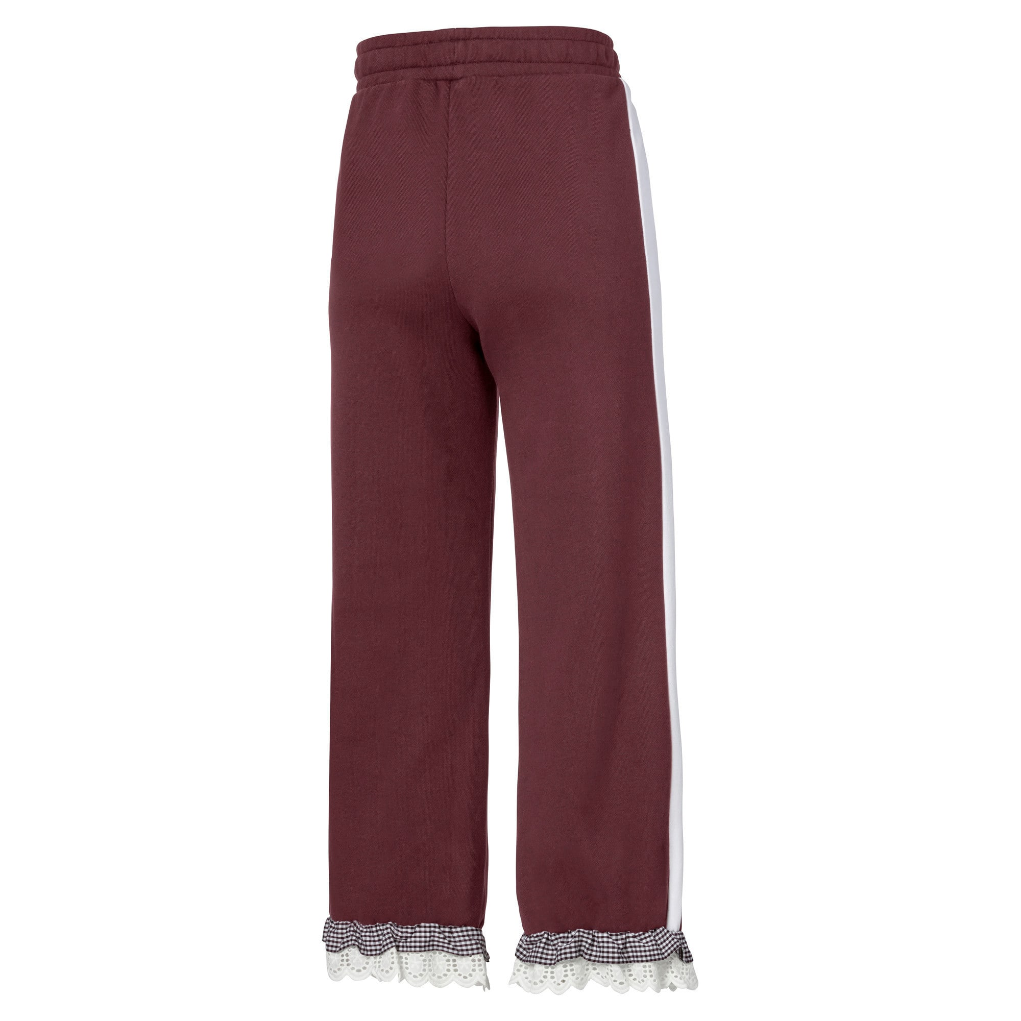 Thumbnail 5 of PUMA x TYAKASHA Knitted Women's Culottes, Vineyard Wine, medium