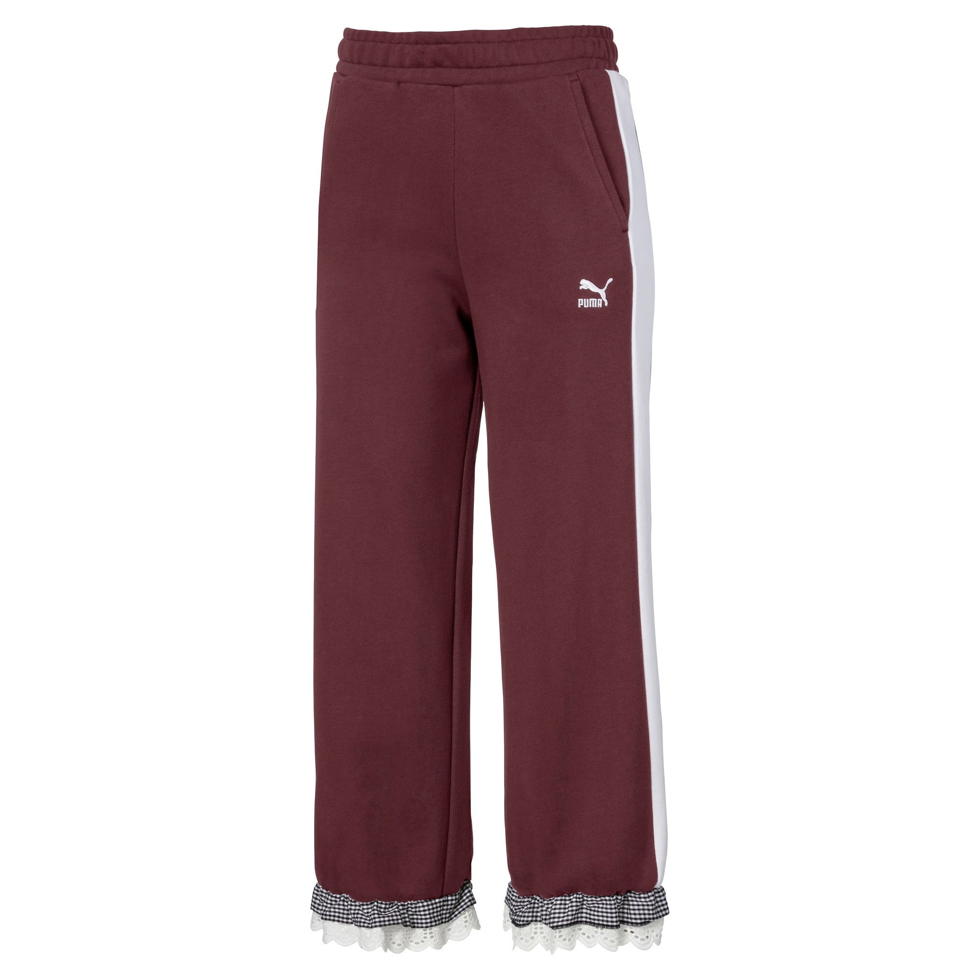 Thumbnail 1 of PUMA x TYAKASHA Knitted Women's Culottes, Vineyard Wine, medium
