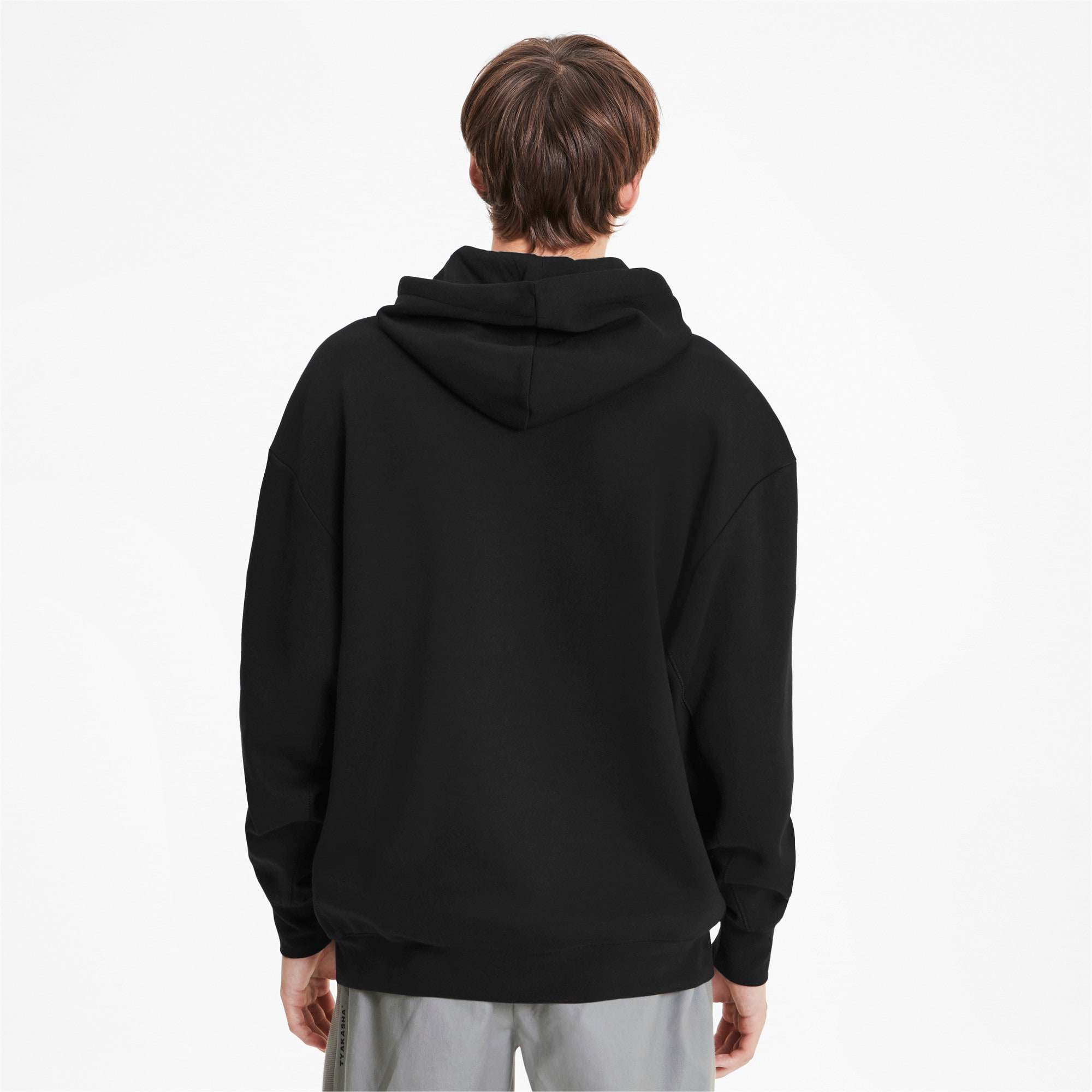 Thumbnail 3 van PUMA x TYAKASHA-herenhoodie, Cotton Black, medium