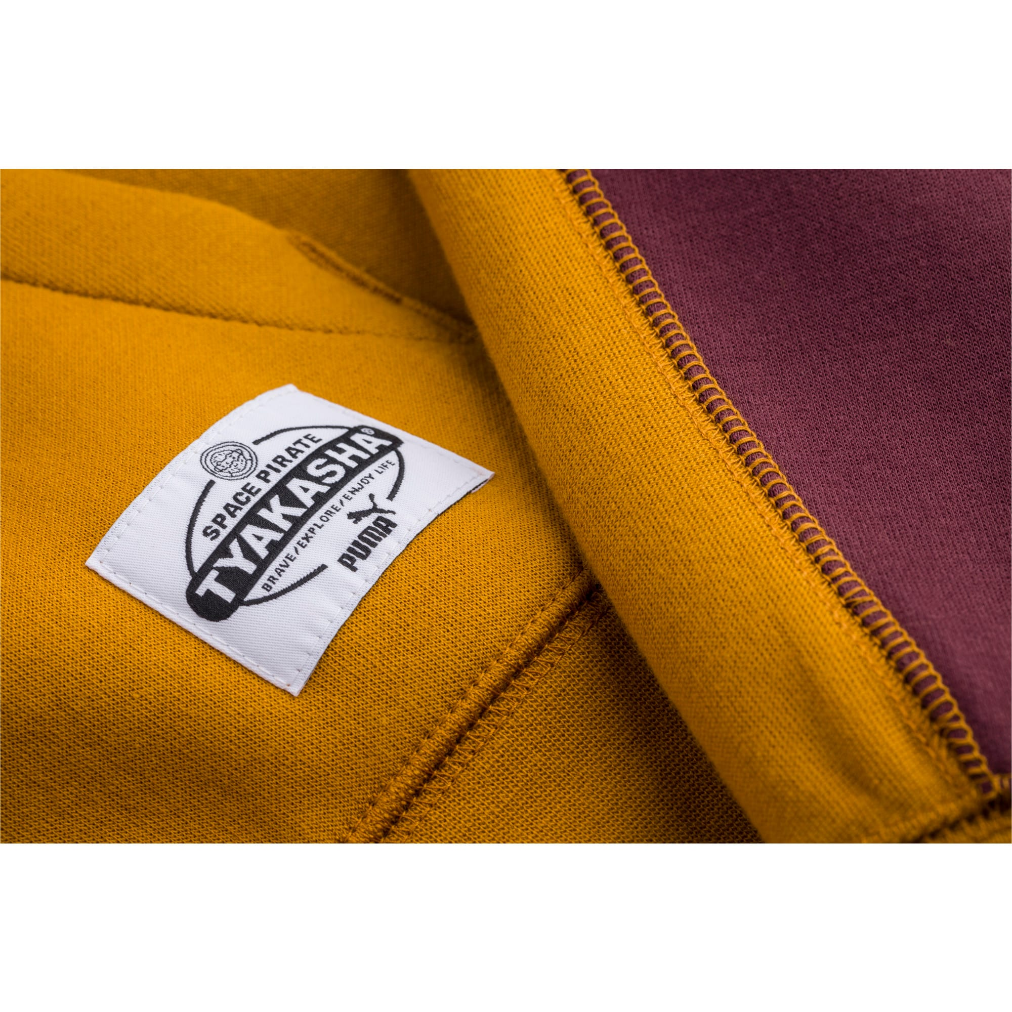 Thumbnail 5 of PUMA x TYAKASHA Herren Hoodie, Buckthorn Brown, medium