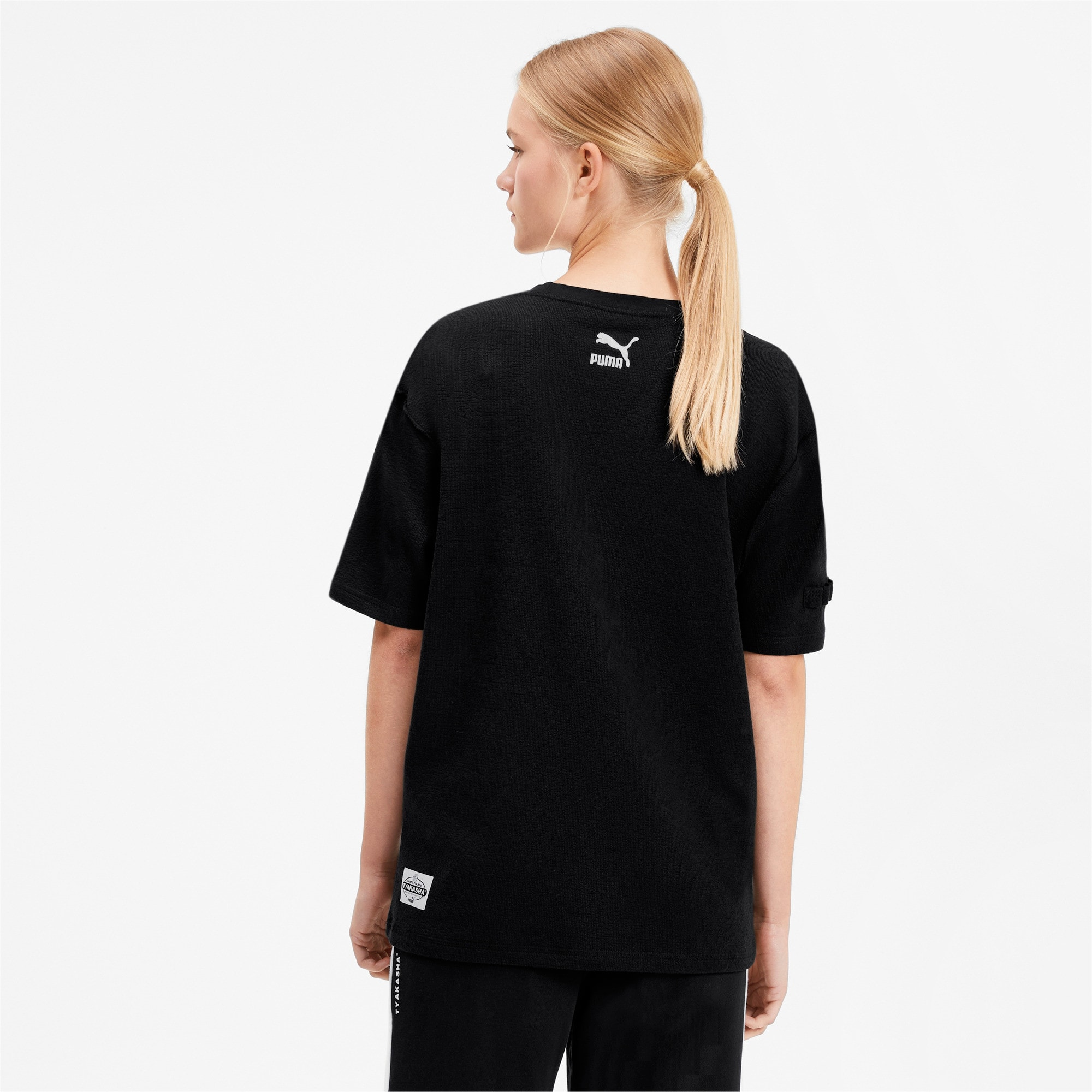 Thumbnail 3 of PUMA x TYAKASHA Tee, Cotton Black, medium