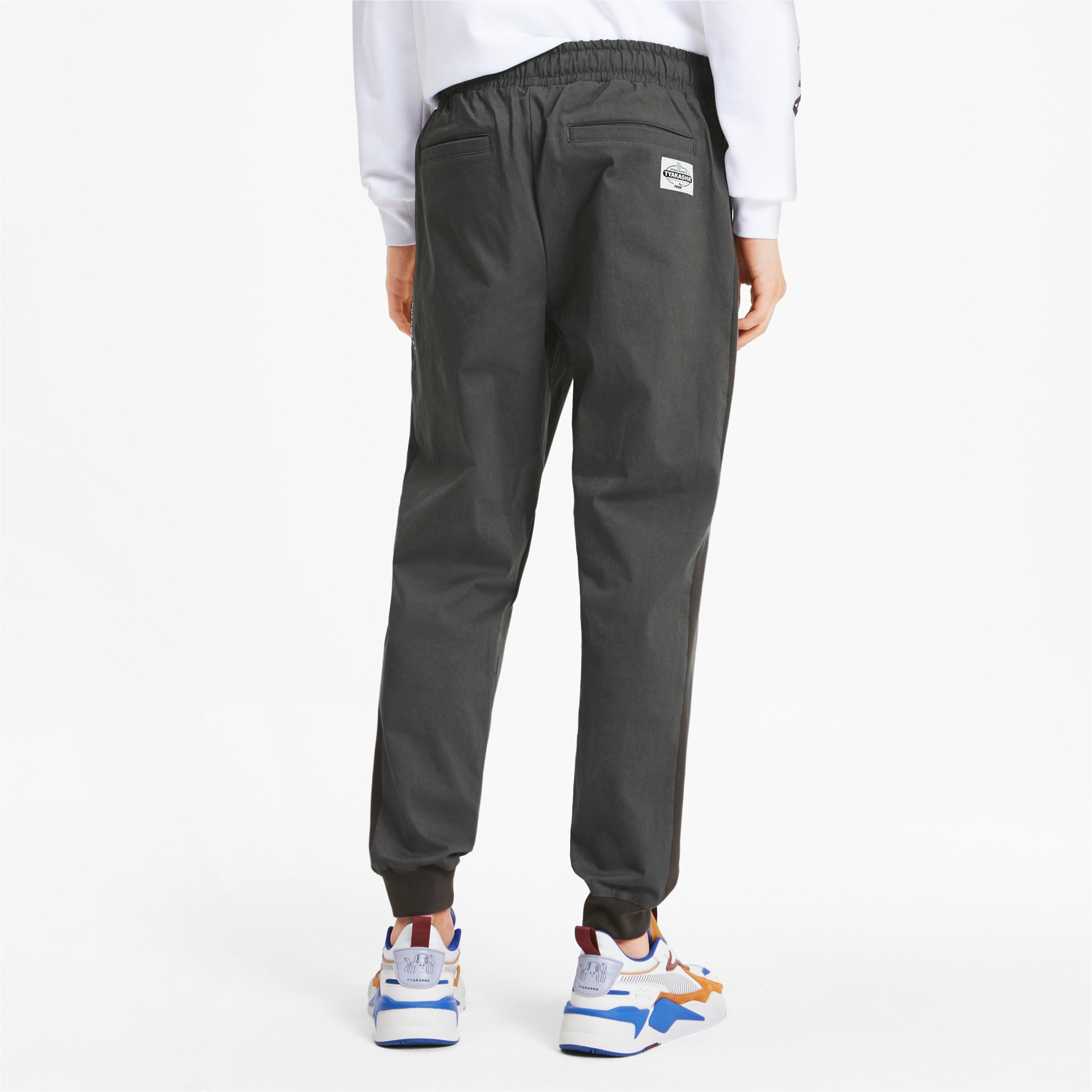 Thumbnail 3 of PUMA x TYAKASHA Woven Men's Pants, CASTLEROCK, medium