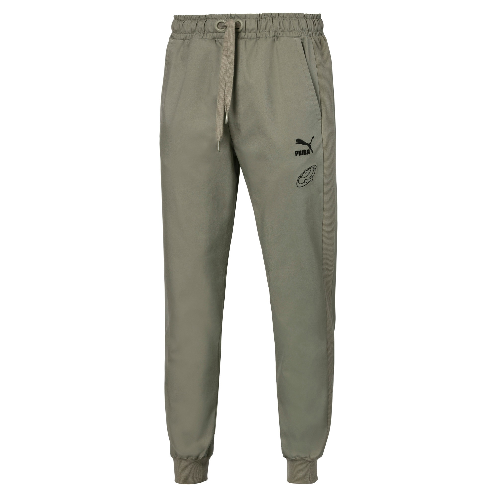Thumbnail 1 of PUMA x TYAKASHA Men's Track Pants, Vetiver, medium