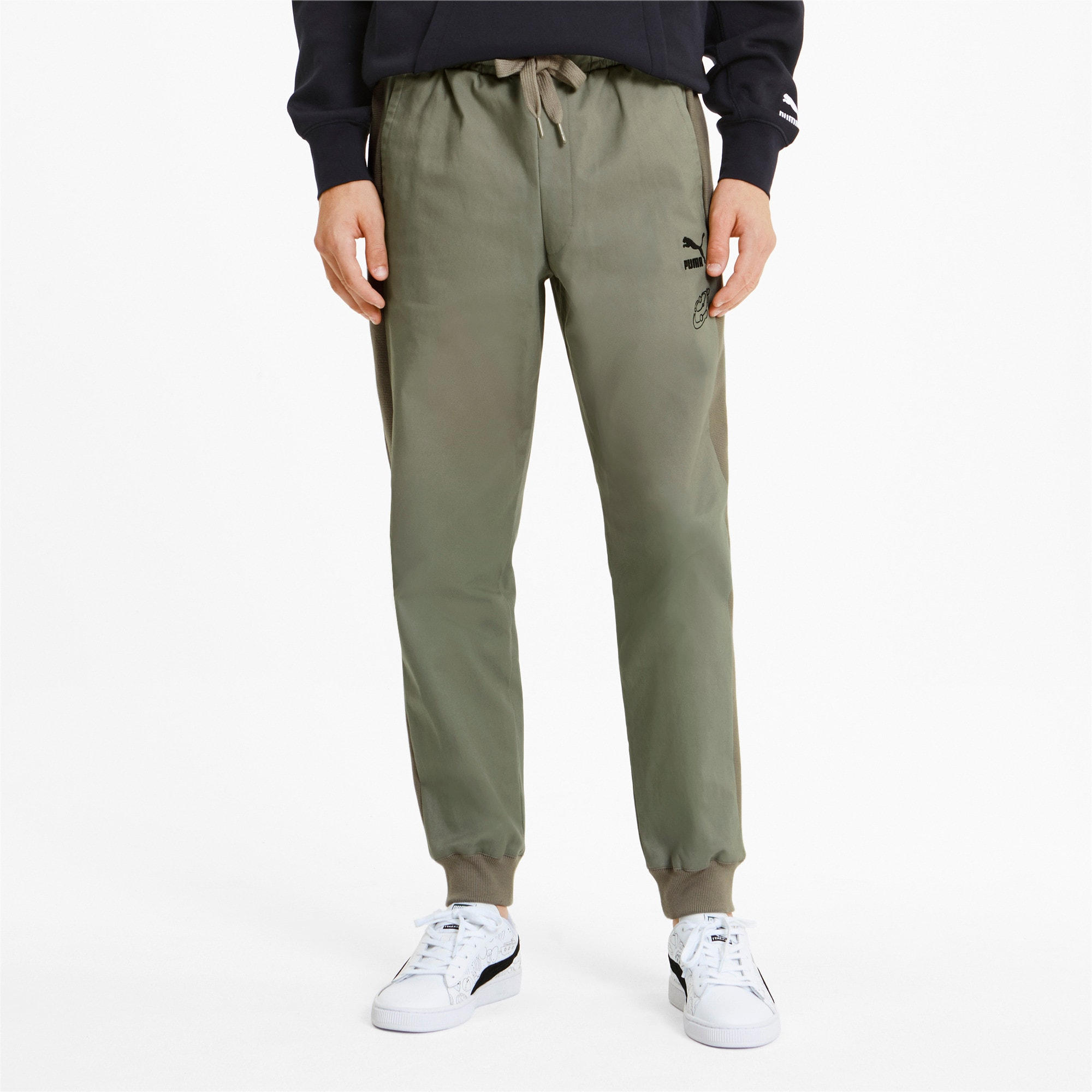 Thumbnail 2 of PUMA x TYAKASHA Men's Track Pants, Vetiver, medium