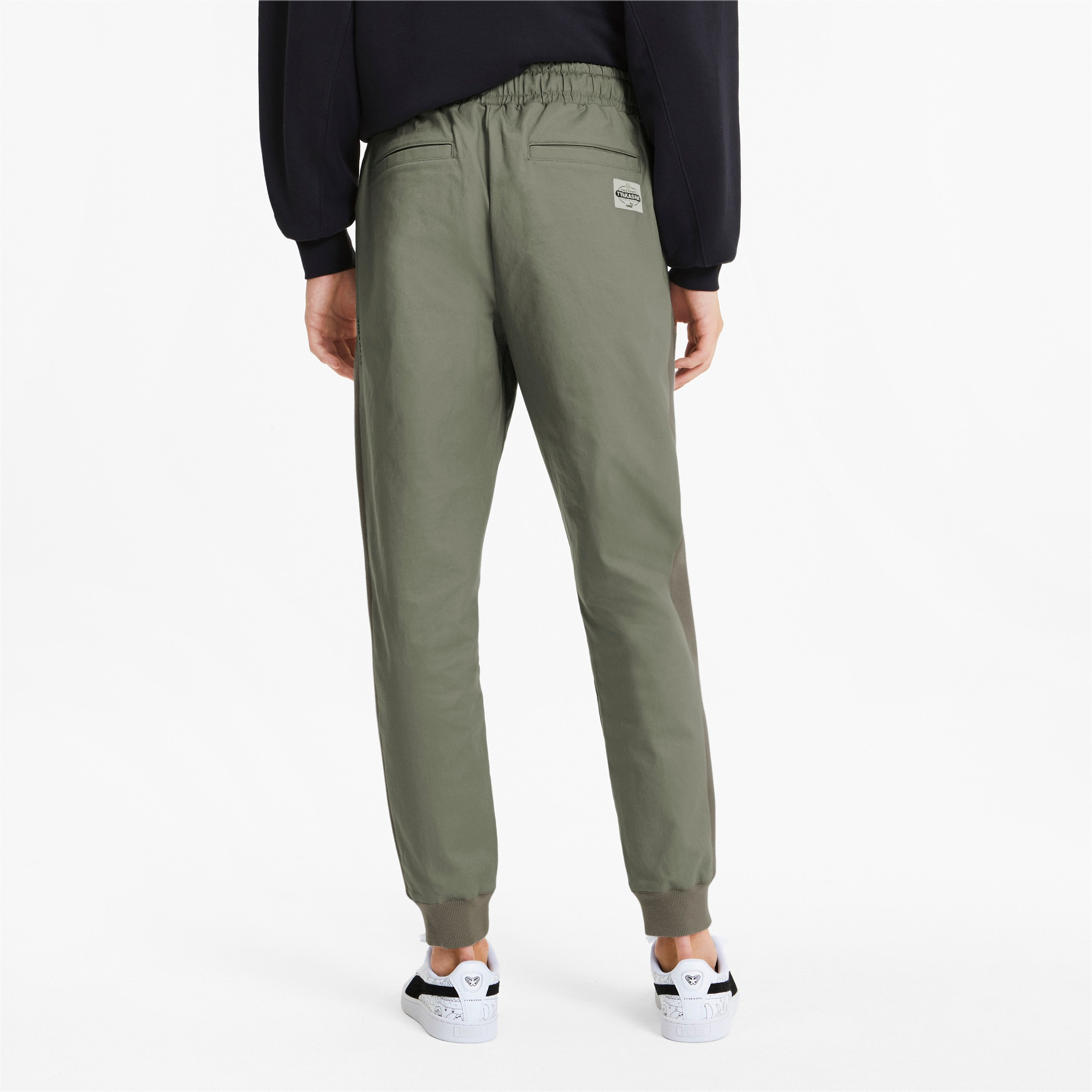 Thumbnail 3 of PUMA x TYAKASHA Men's Track Pants, Vetiver, medium