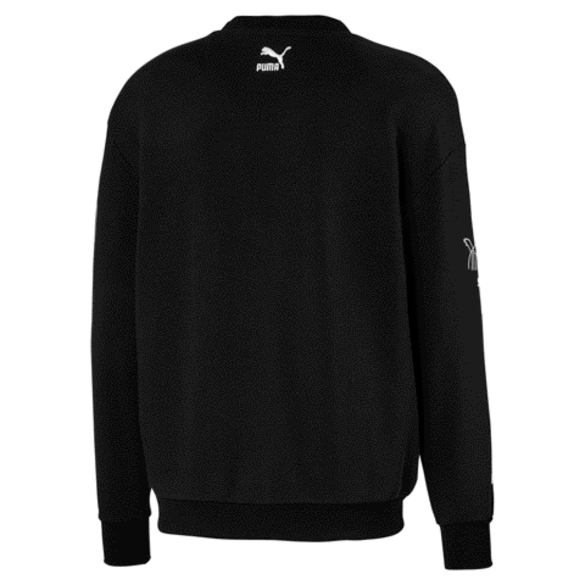 Thumbnail 5 of PUMA x TYAKASHA Crew Men's Sweater, Cotton Black, medium