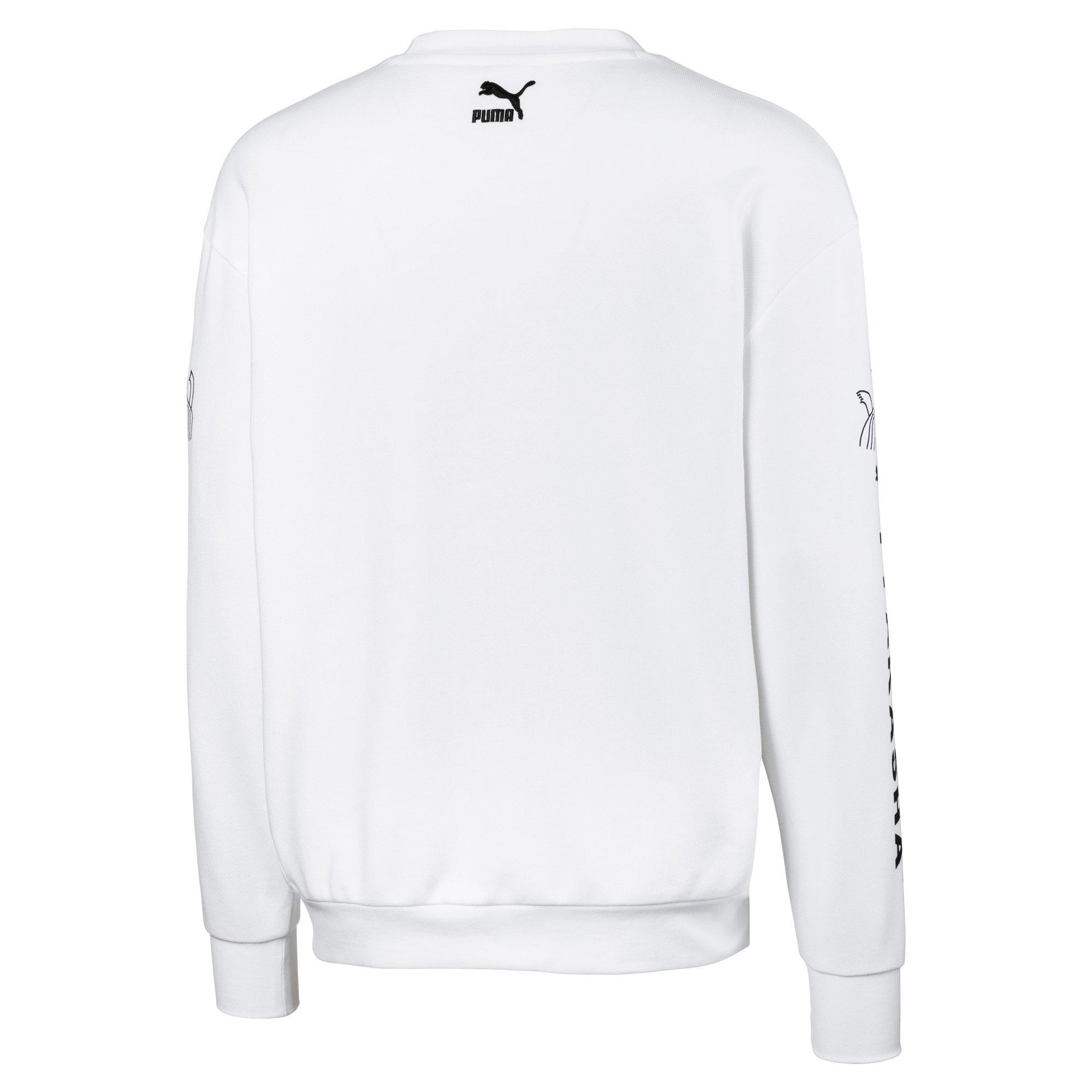 Thumbnail 5 of PUMA x TYAKASHA Herren Sweatshirt, Puma White, medium