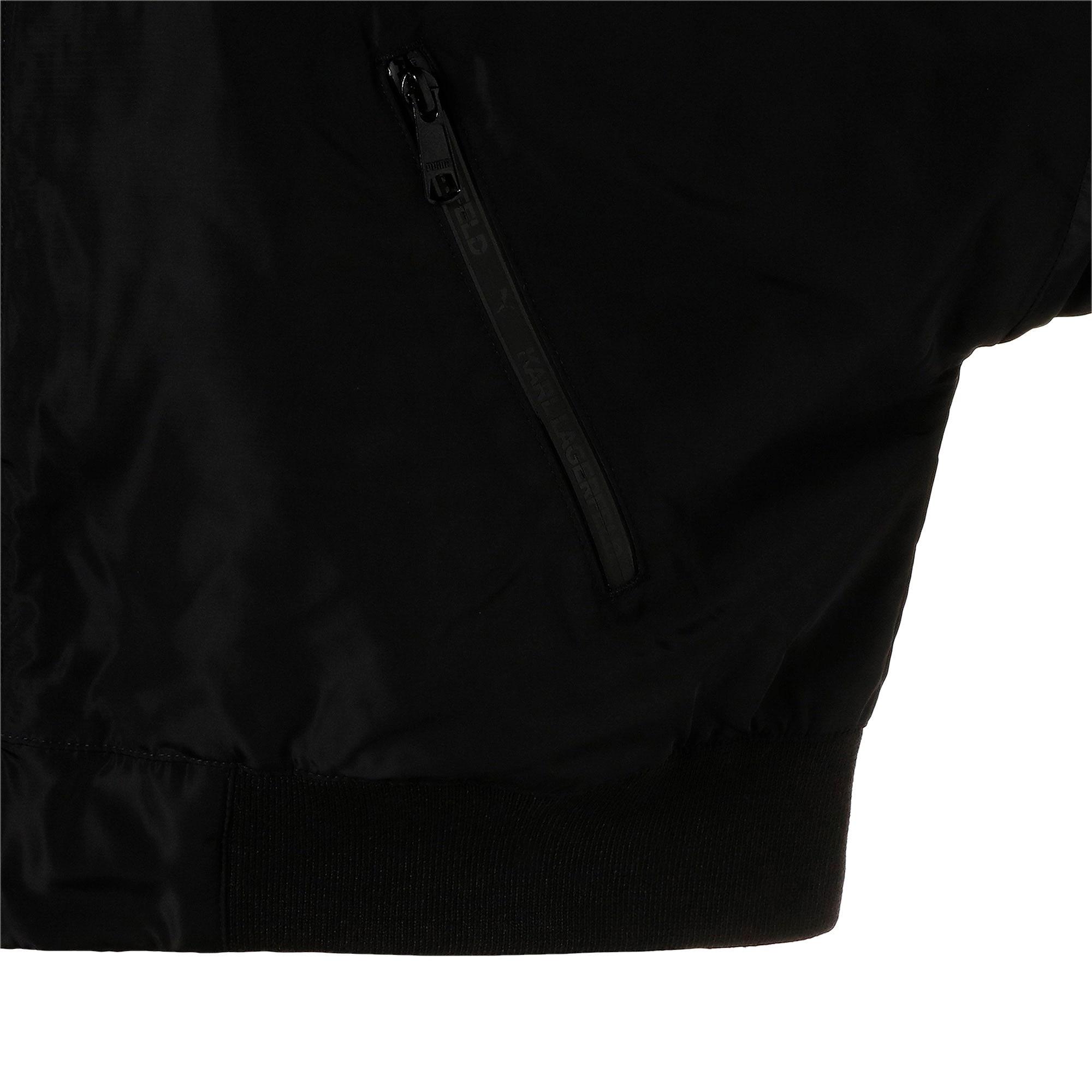 Thumbnail 9 of PUMA x KARL LAGERFELD ウィメンズ ボンバージャケット, Puma Black, medium-JPN