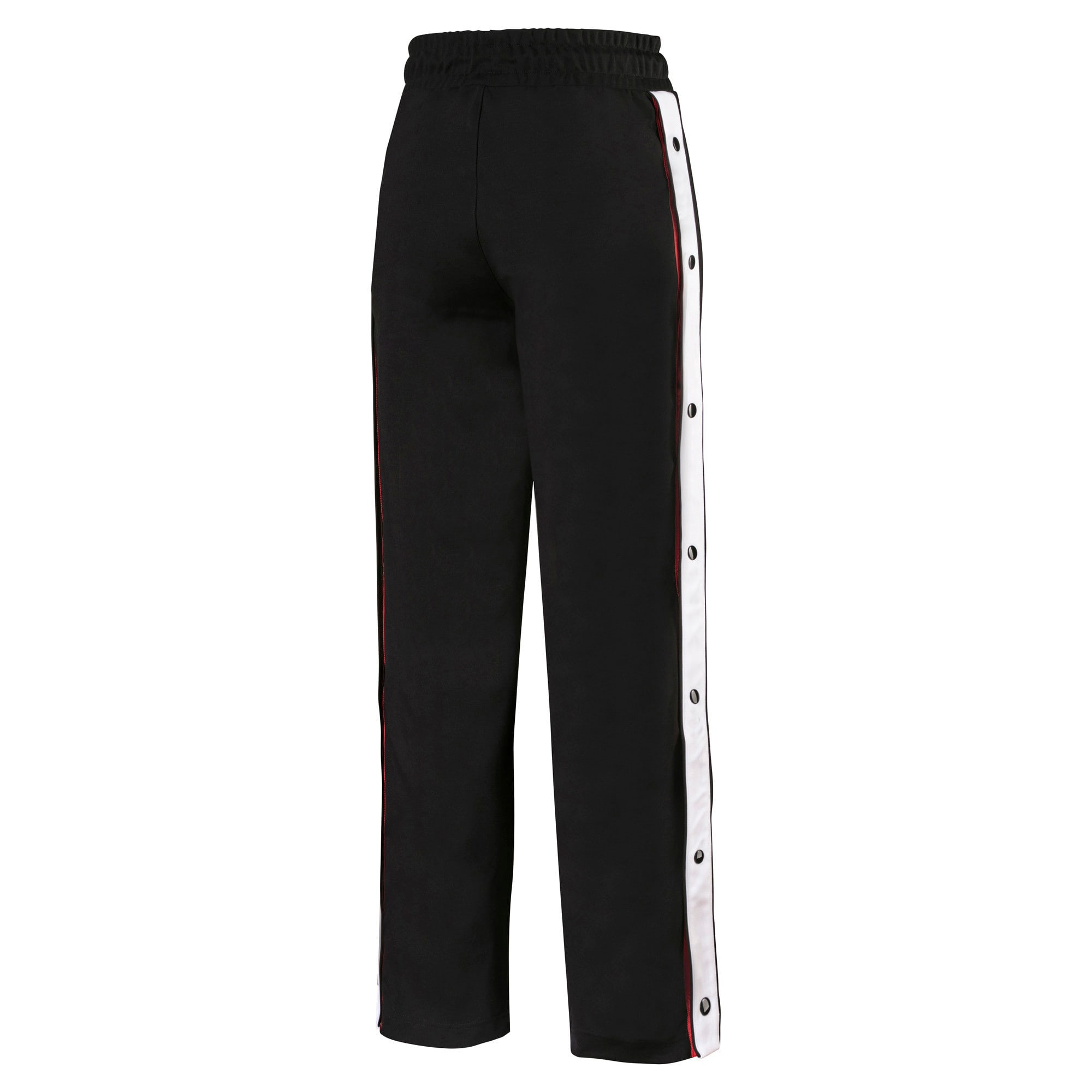 Anteprima 5 di PUMA x KARL LAGERFELD Knitted Women's Wide Pants, Puma Black, medio