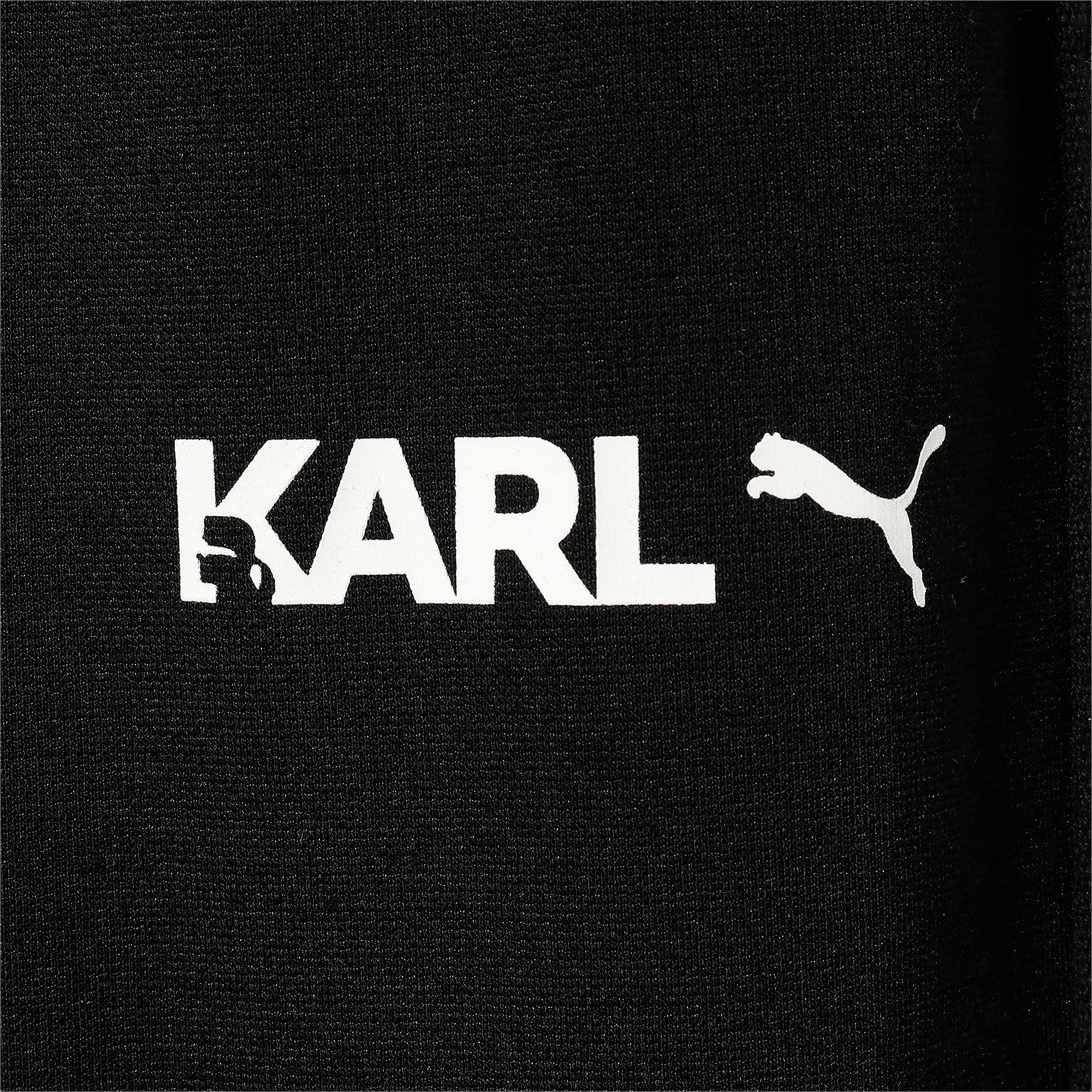 Thumbnail 7 of PUMA x KARL LAGERFELD ウィメンズ ワイドパンツ, Puma Black, medium-JPN