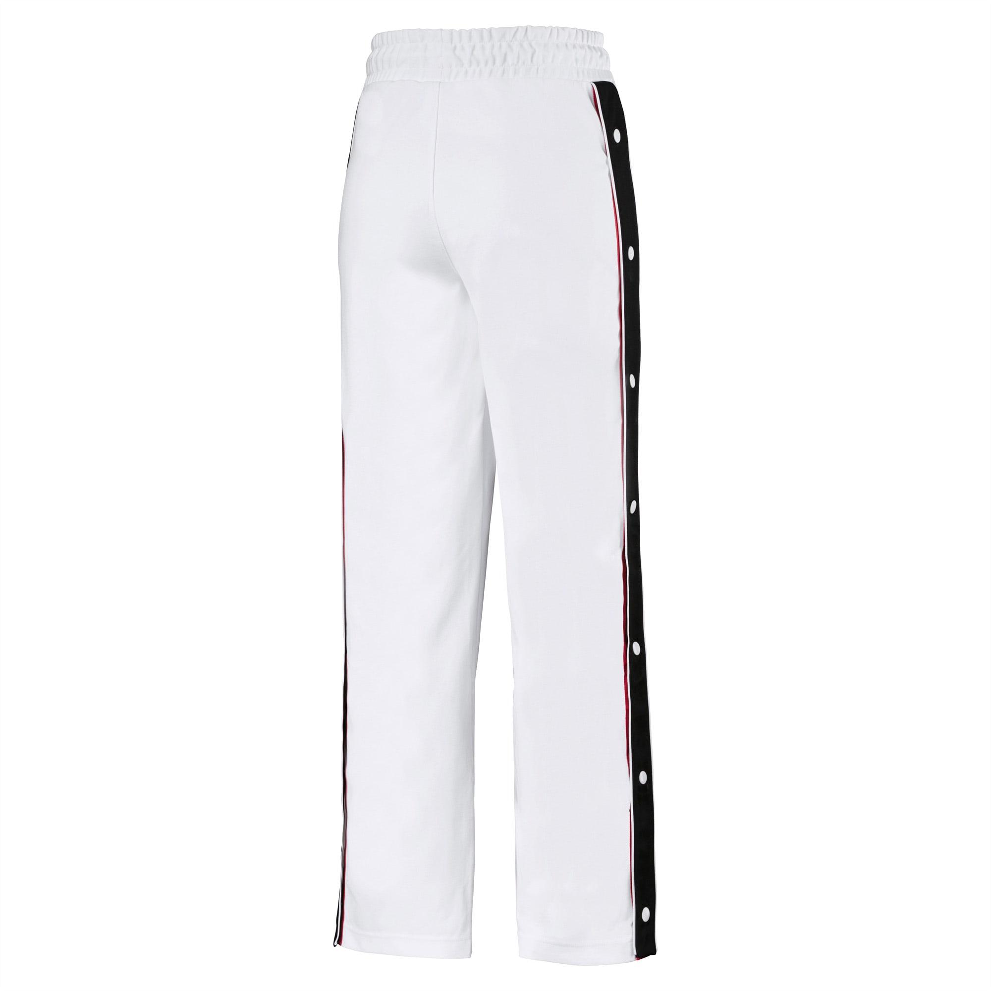 Pantaloni larghi da donna in maglia PUMA x KARL LAGERFELD