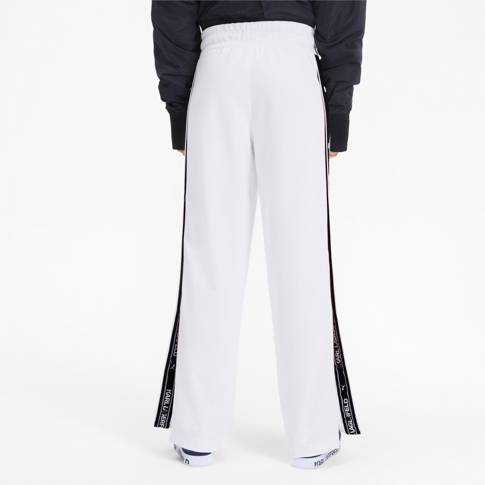 Thumbnail 2 of PUMA x KARL LAGERFELD Women's Wide Pants, Puma White, medium