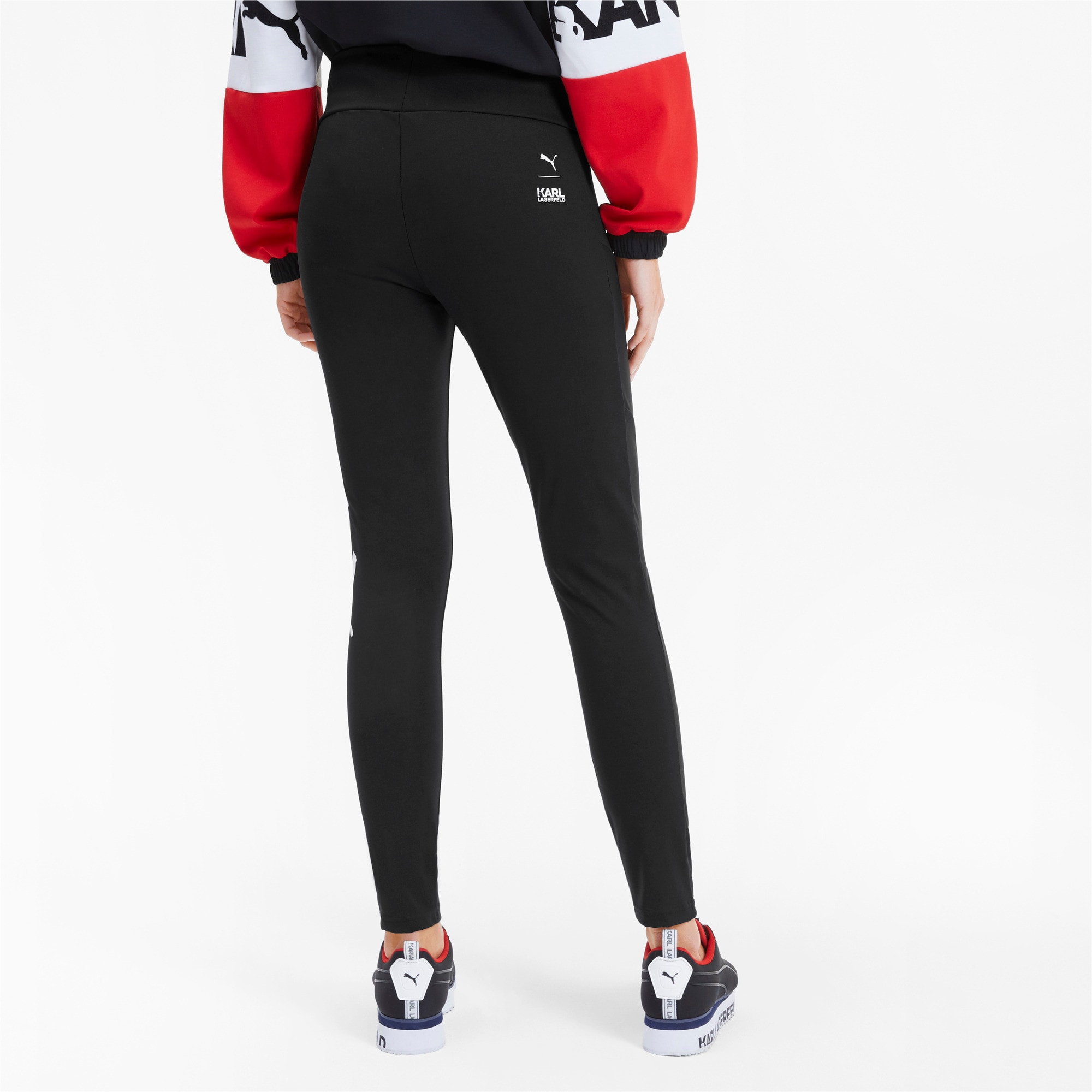 Thumbnail 2 of PUMA x KARL LAGERFELD Women's Leggings, Puma Black, medium