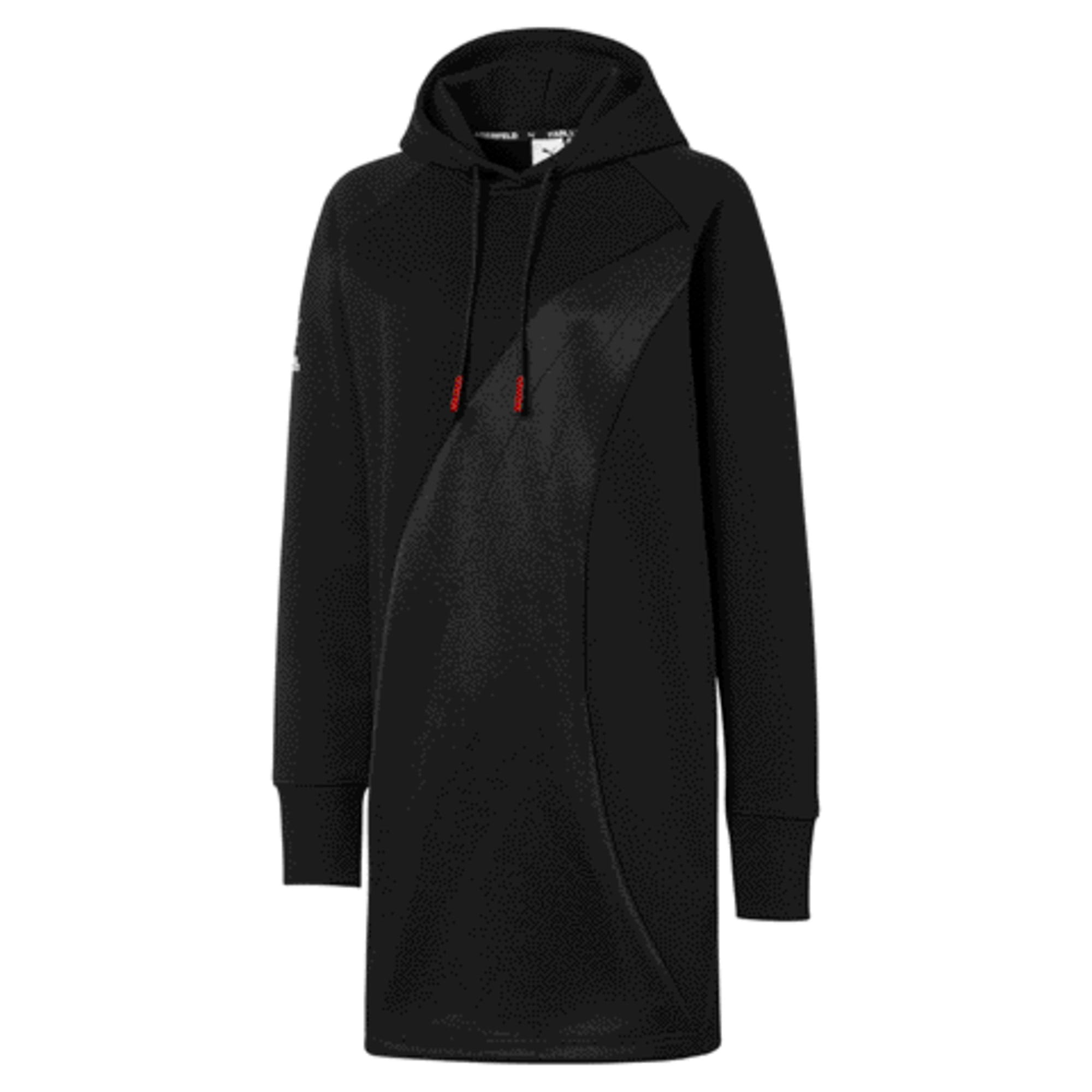 Thumbnail 1 of PUMA x KARL LAGERFELD Hooded Women's Dress, Puma Black, medium