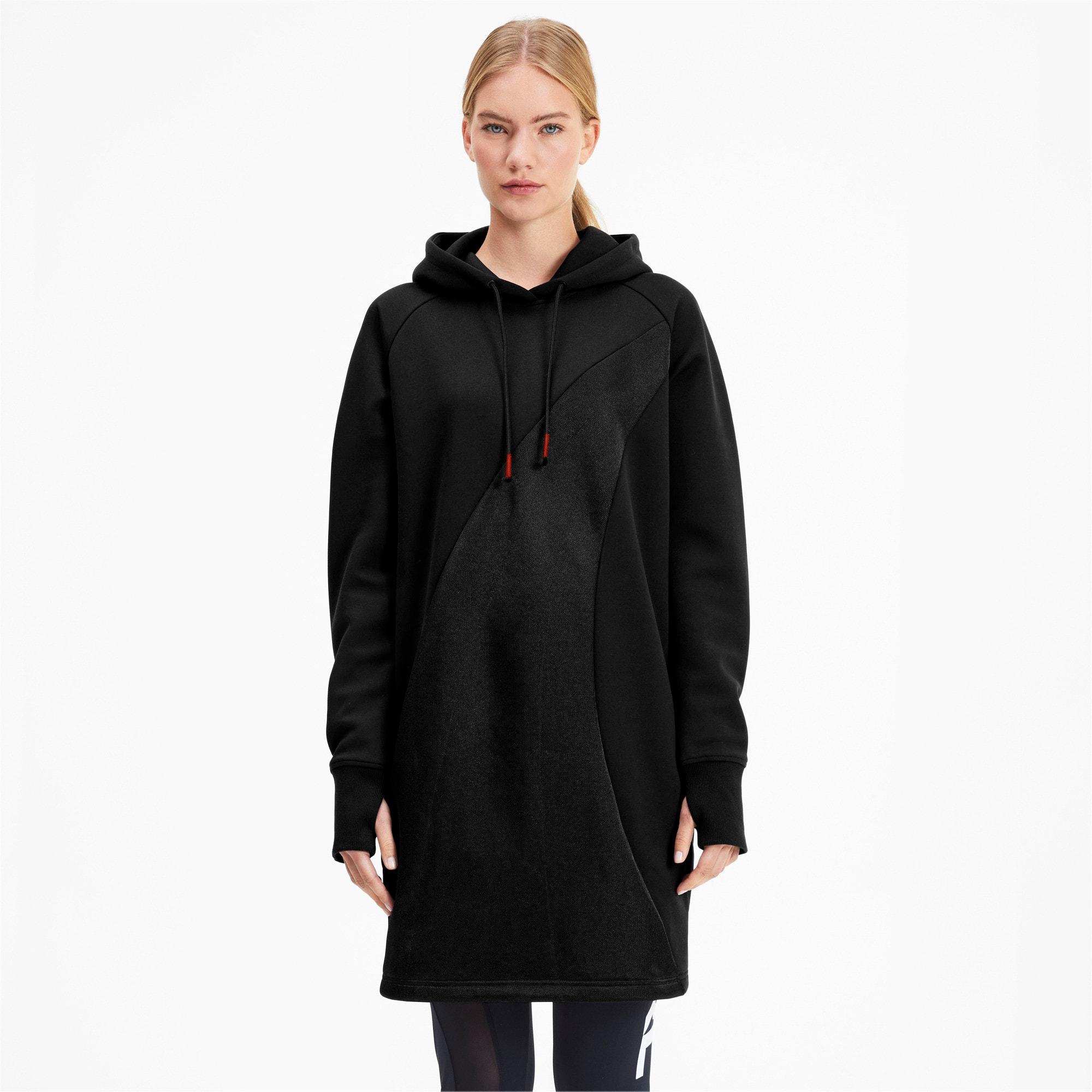 Thumbnail 2 of PUMA x KARL LAGERFELD Women's Hooded Dress, Puma Black, medium