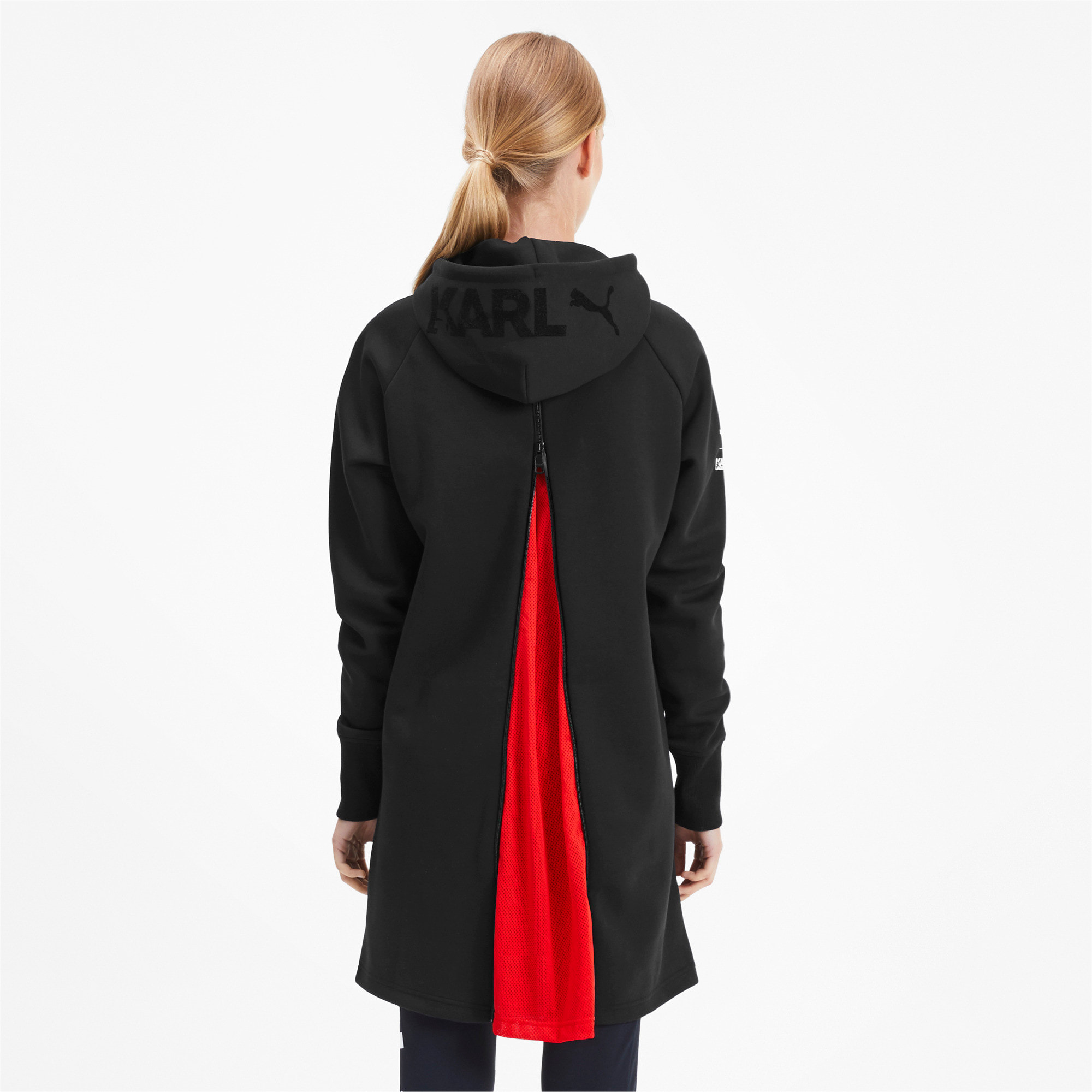 Thumbnail 3 of PUMA x KARL LAGERFELD Hooded Women's Dress, Puma Black, medium