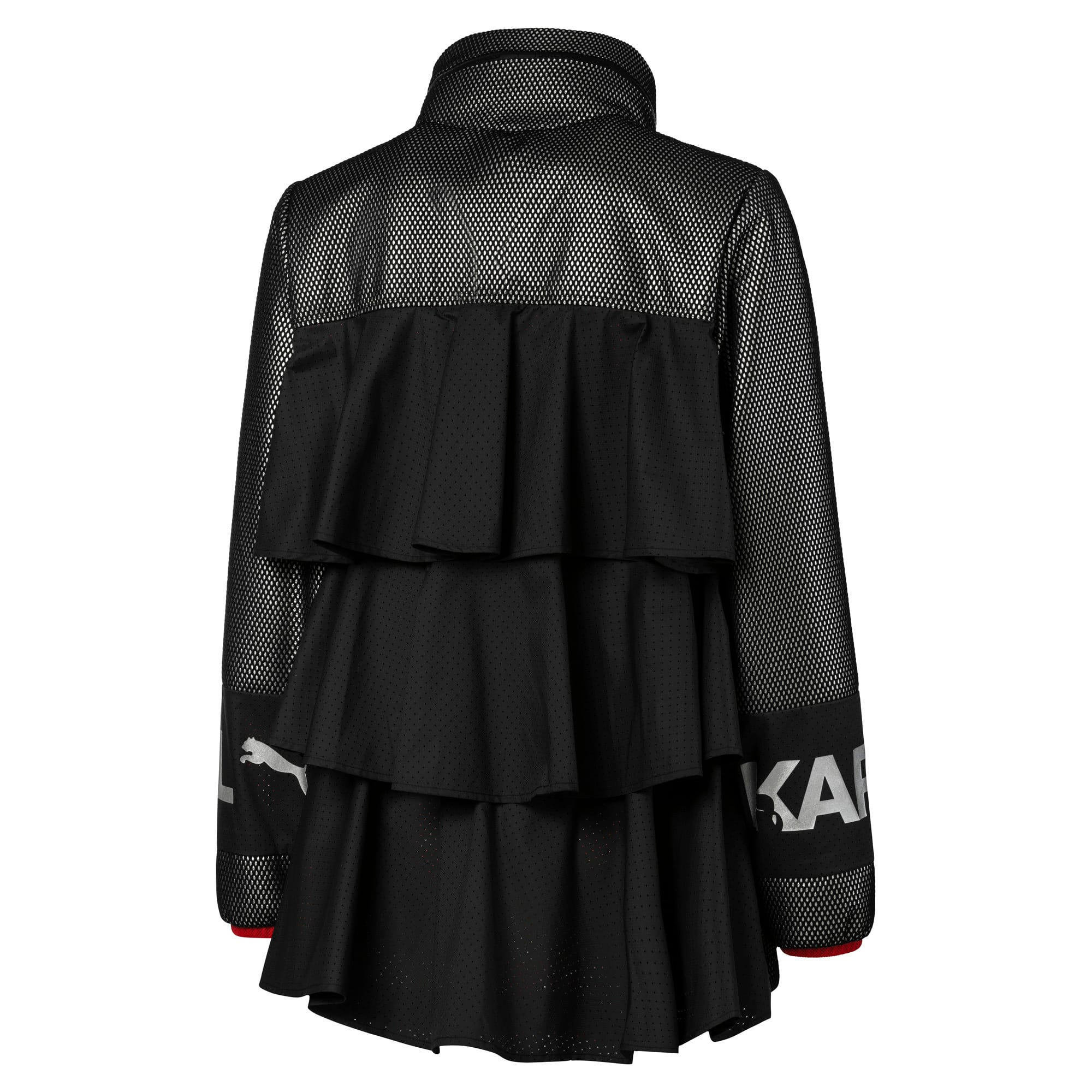 Thumbnail 4 of PUMA x KARL LAGERFELD Damen Outerwear Jacke, Puma Black, medium
