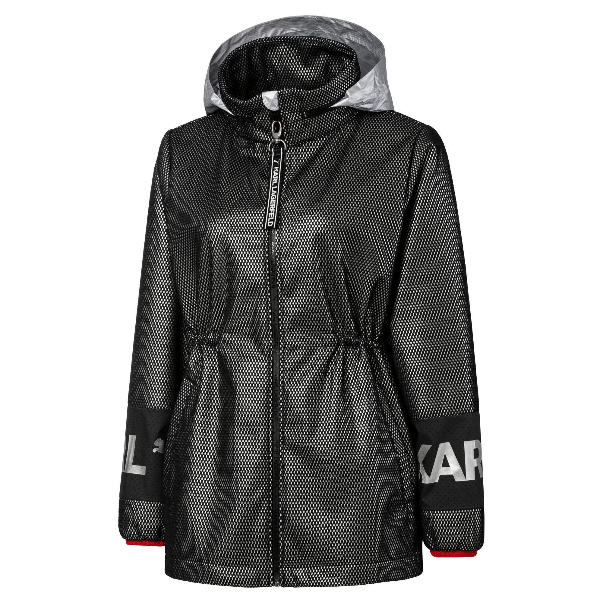 Thumbnail 9 of PUMA x KARL LAGERFELD Women's Outerwear Jacket, Puma Black, medium