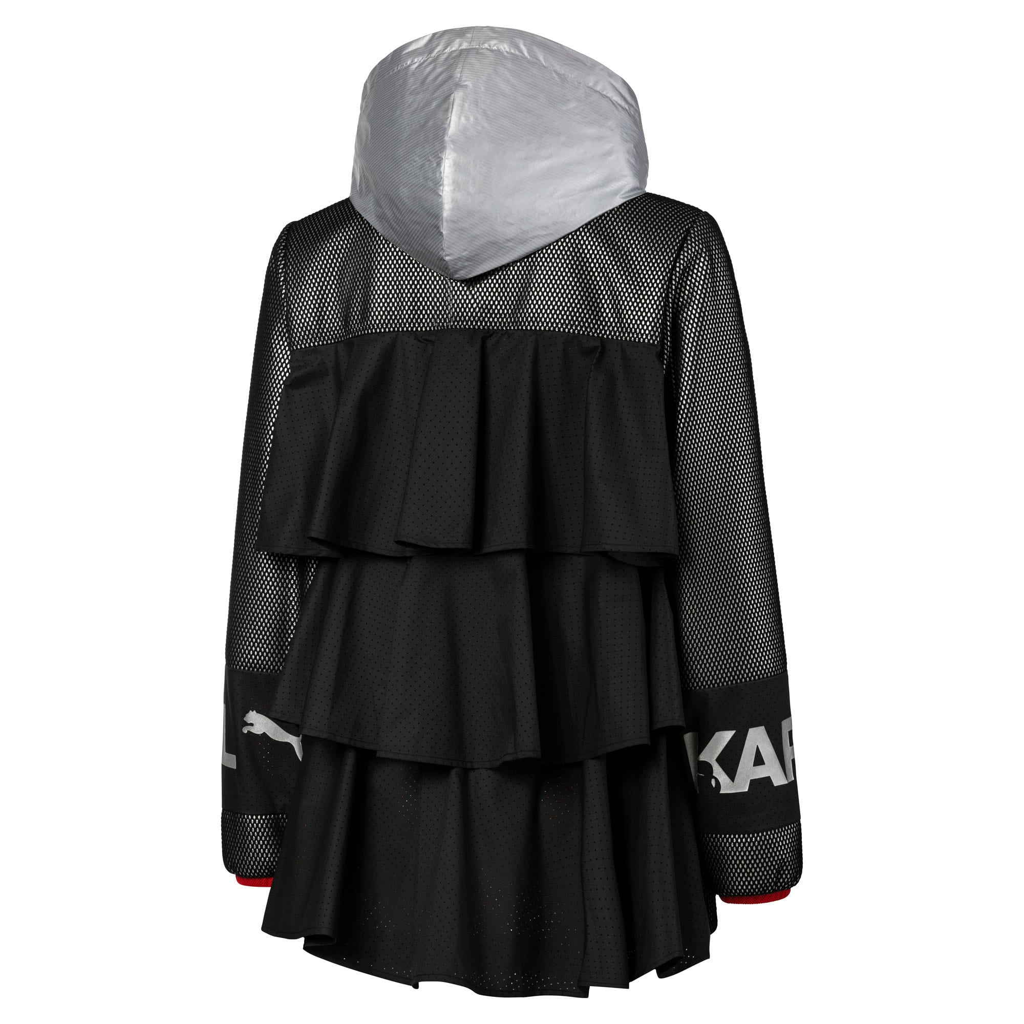 Thumbnail 5 of PUMA x KARL LAGERFELD Women's Outerwear Jacket, Puma Black, medium