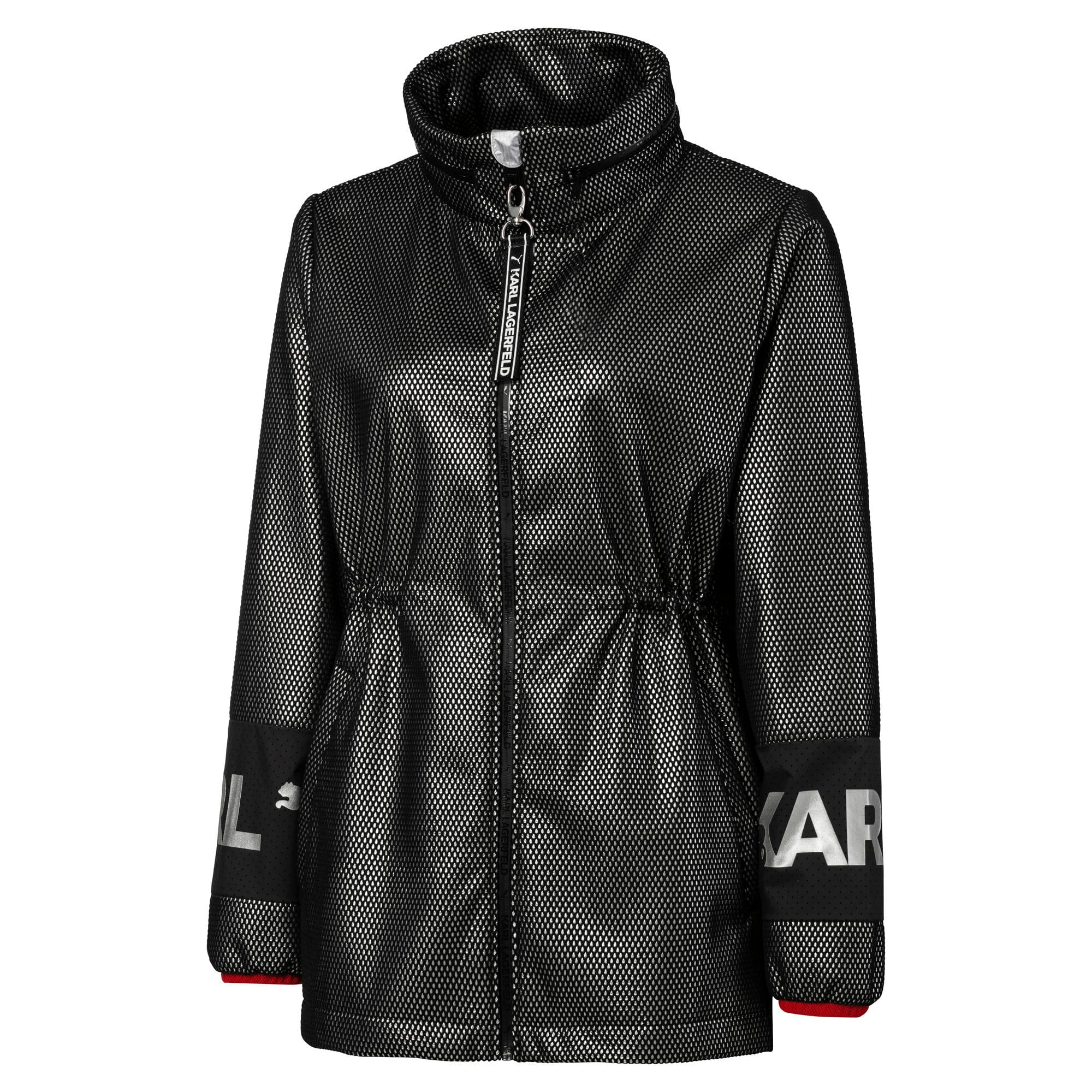 Thumbnail 8 of PUMA x KARL LAGERFELD Damen Outerwear Jacke, Puma Black, medium