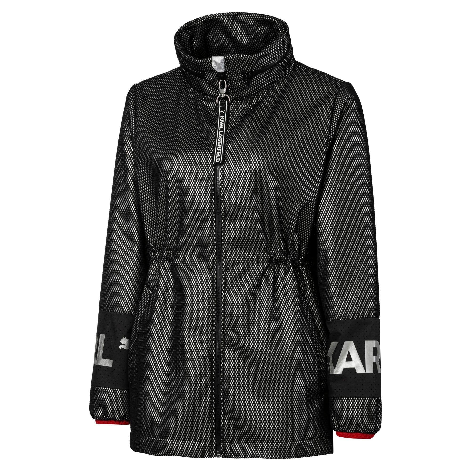 Thumbnail 8 of PUMA x KARL LAGERFELD Women's Outerwear Jacket, Puma Black, medium