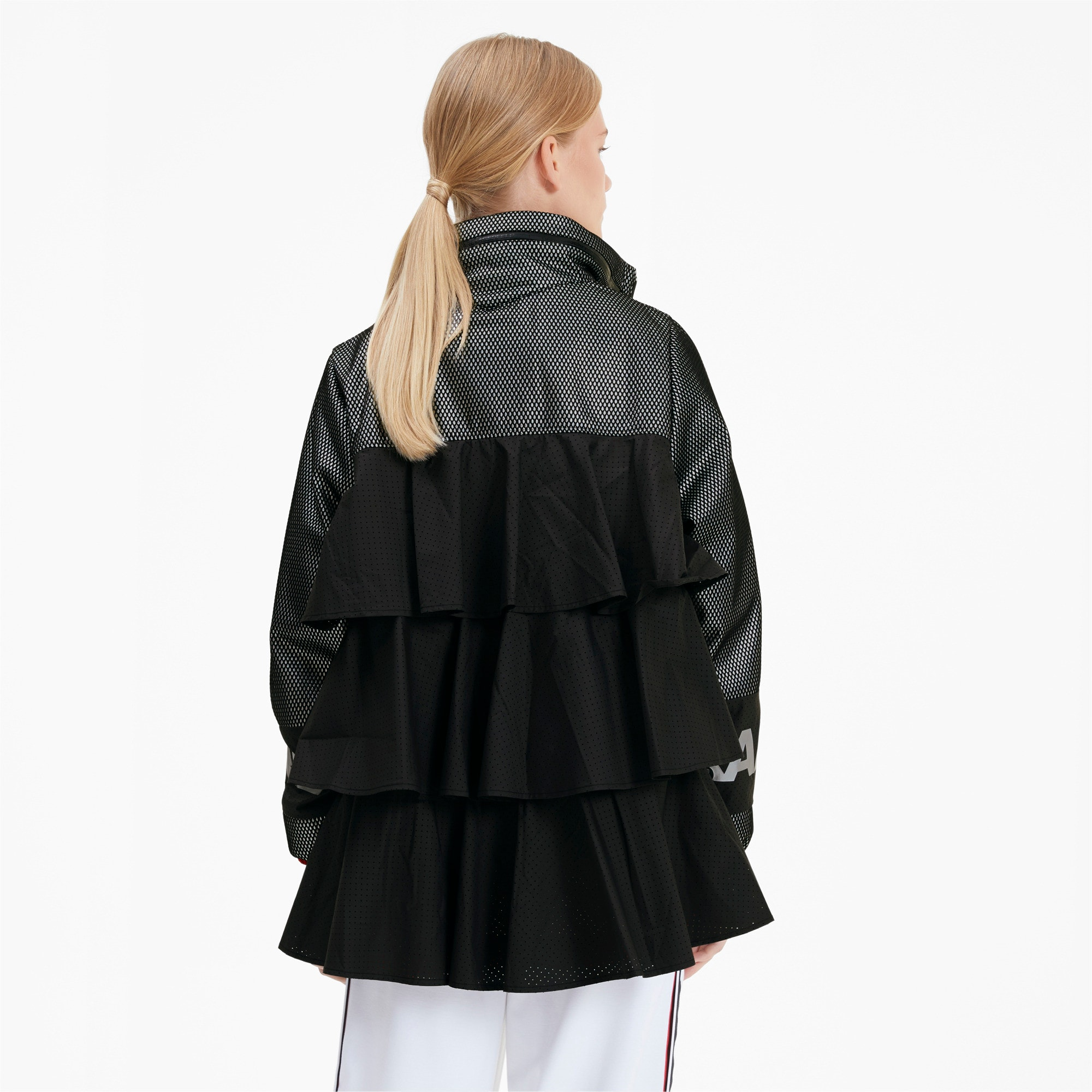 Thumbnail 2 of PUMA x KARL LAGERFELD Damen Outerwear Jacke, Puma Black, medium