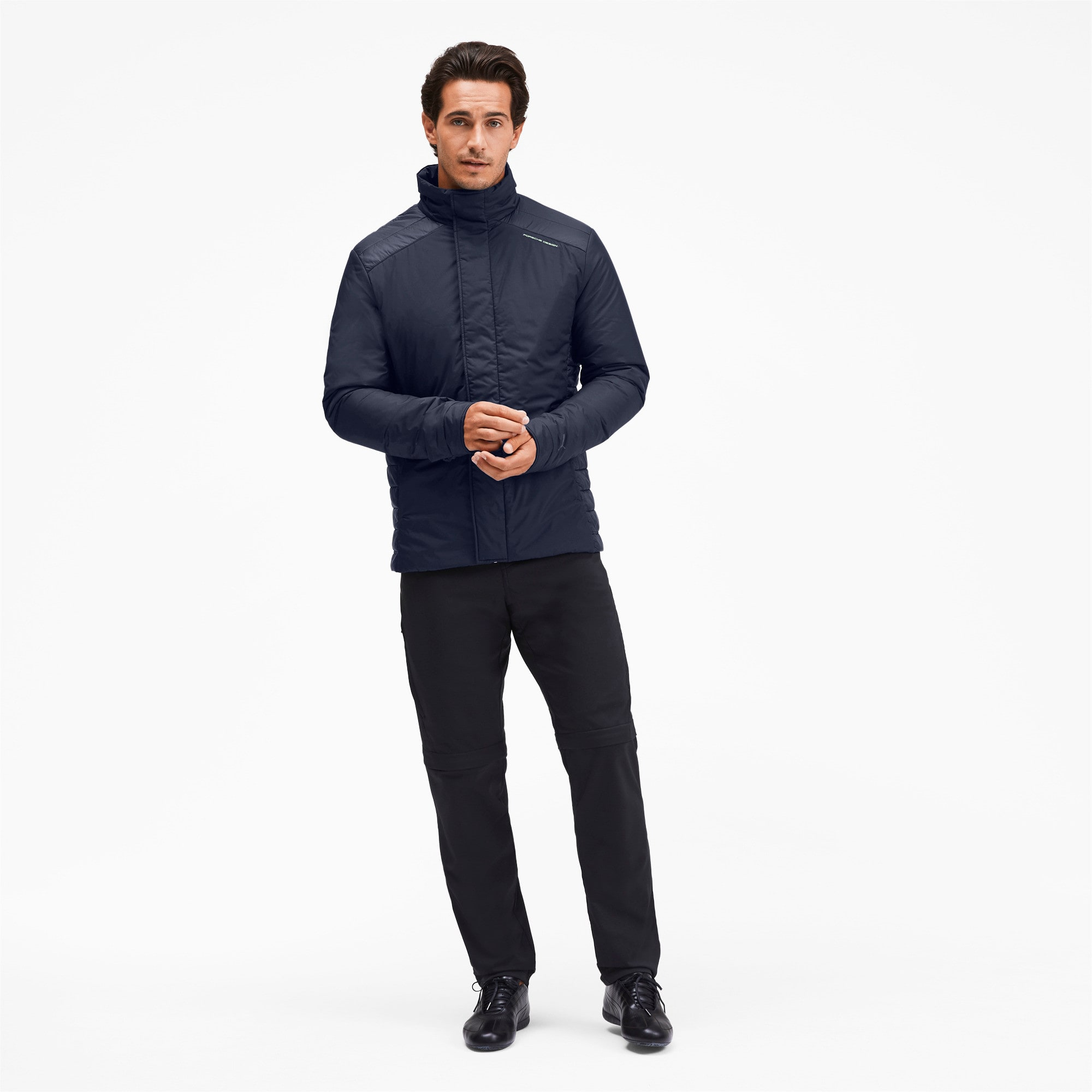 Thumbnail 3 of Porsche Design Men's Racing Jacket, Navy Blazer, medium
