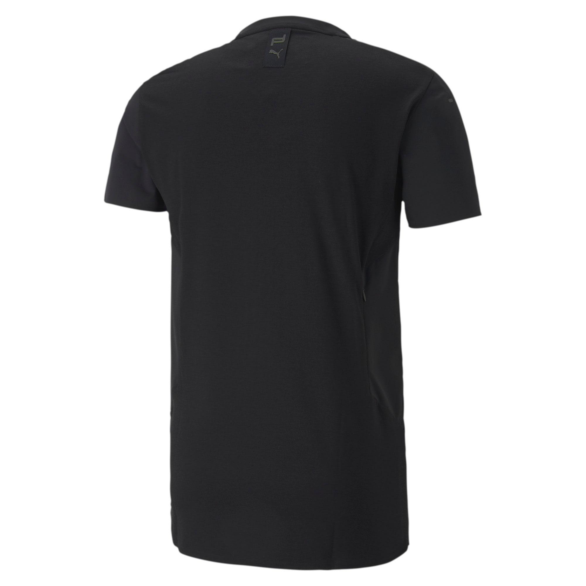 Miniatura 5 de Camiseta Porsche Design RCT para hombre, Jet Black, mediano