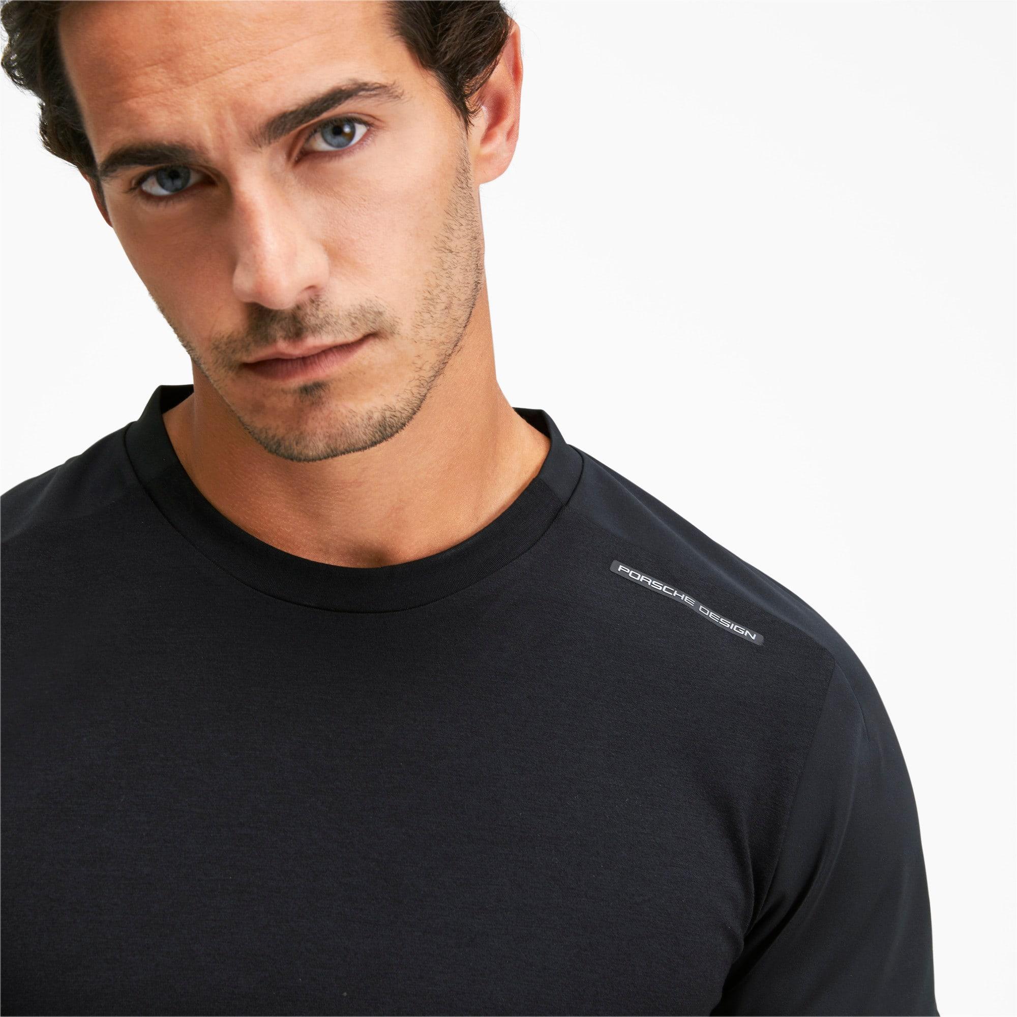 Miniatura 6 de Camiseta Porsche Design RCT para hombre, Jet Black, mediano