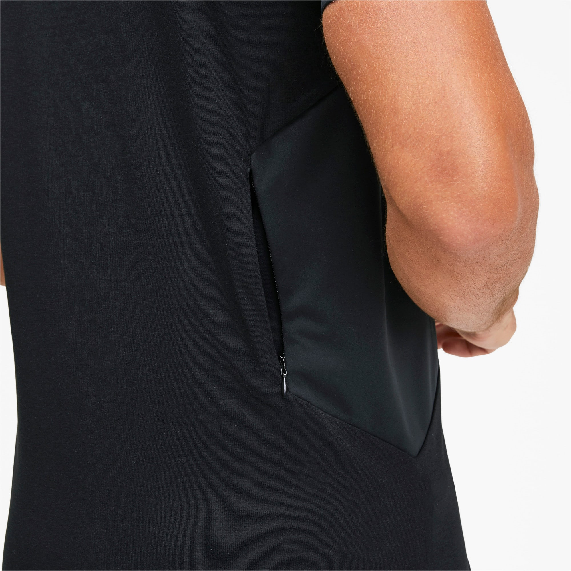 Thumbnail 7 of Porsche Design RCT Men's Tee, Jet Black, medium