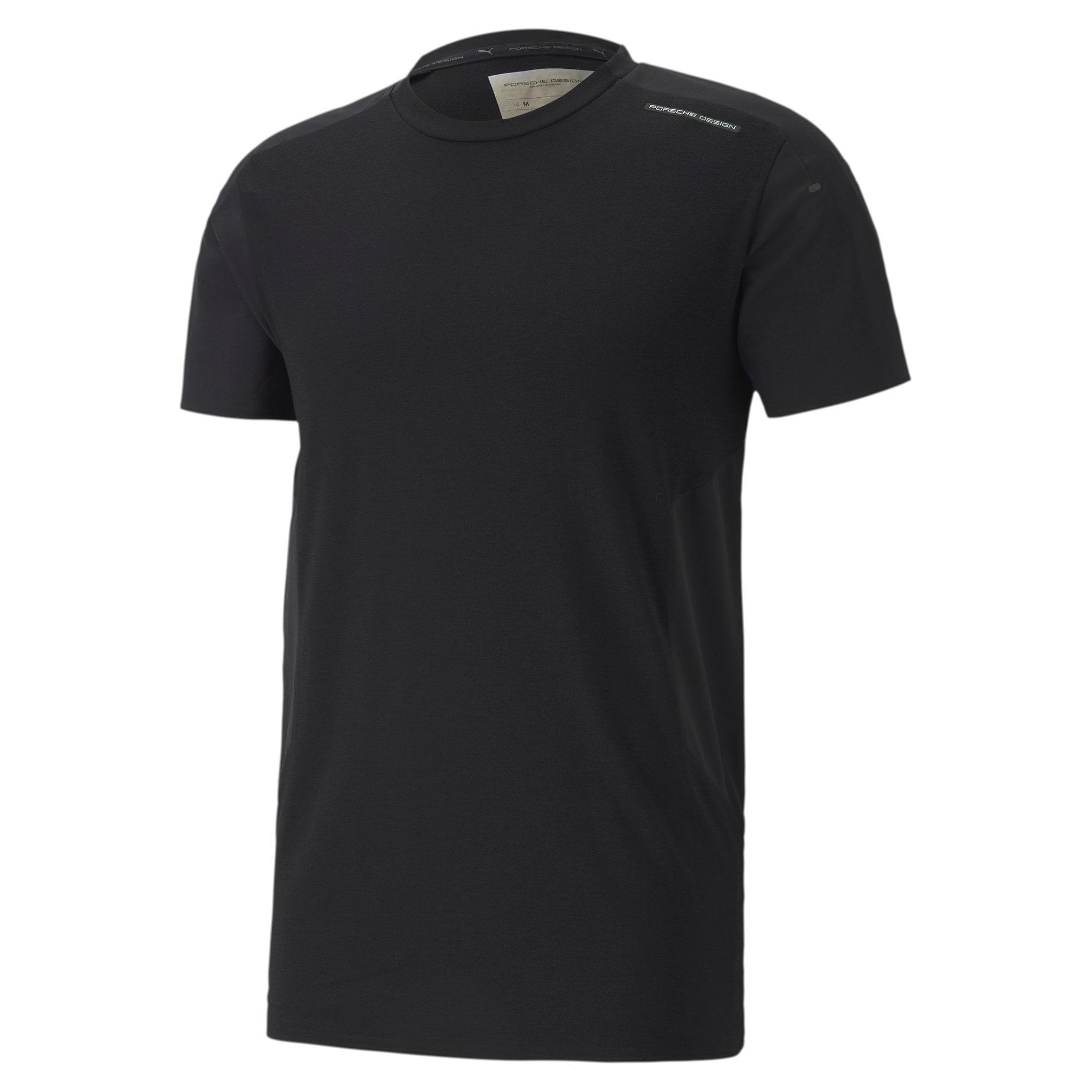 Miniatura 4 de Camiseta Porsche Design RCT para hombre, Jet Black, mediano