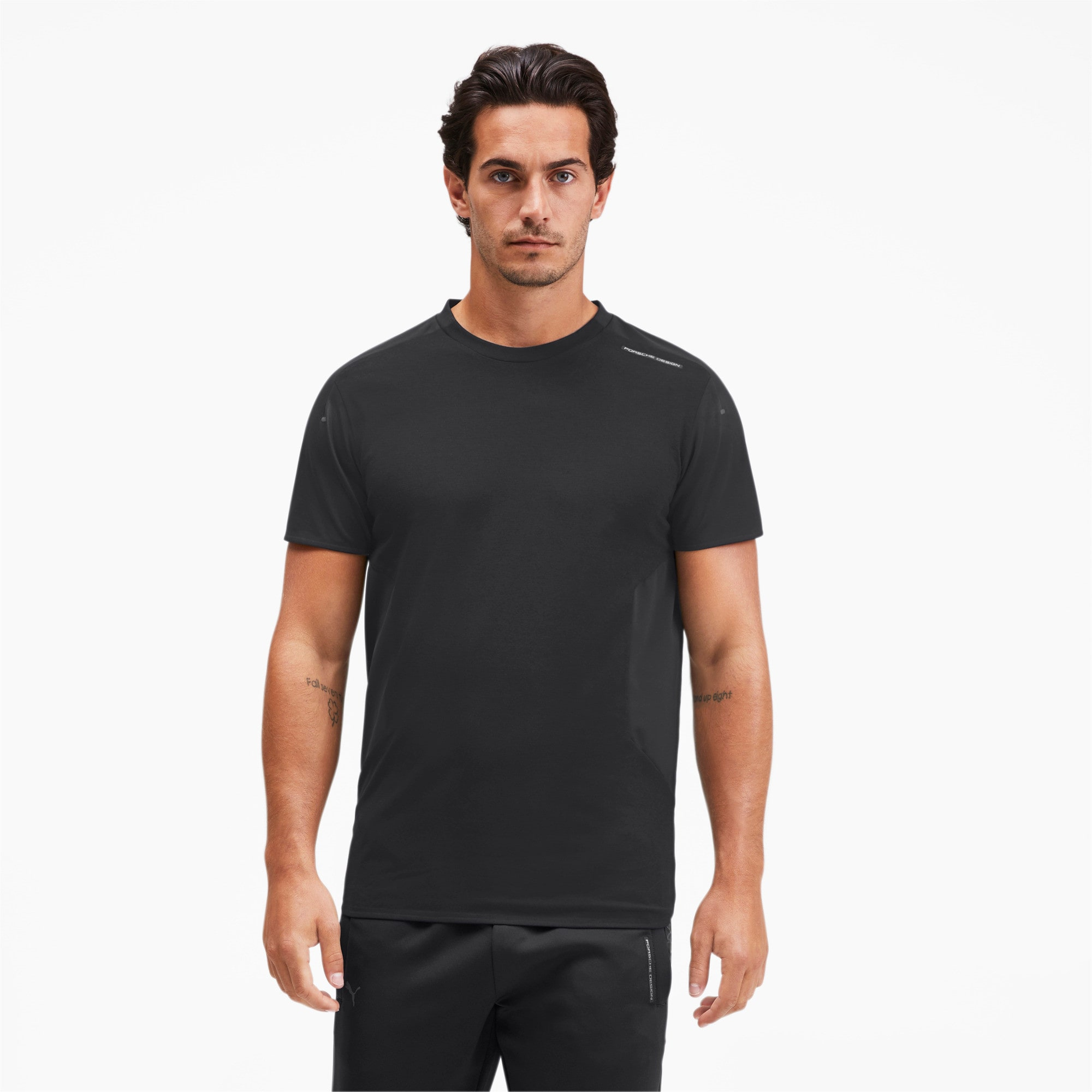Thumbnail 1 of Porsche Design RCT Men's Tee, Jet Black, medium