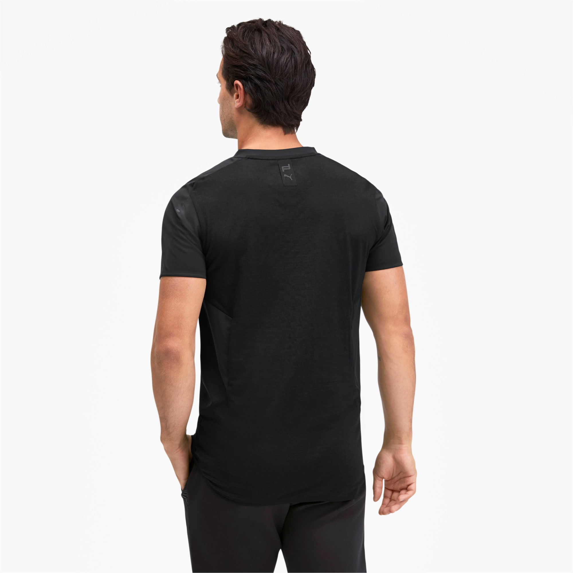 Thumbnail 2 of Porsche Design RCT Men's Tee, Jet Black, medium