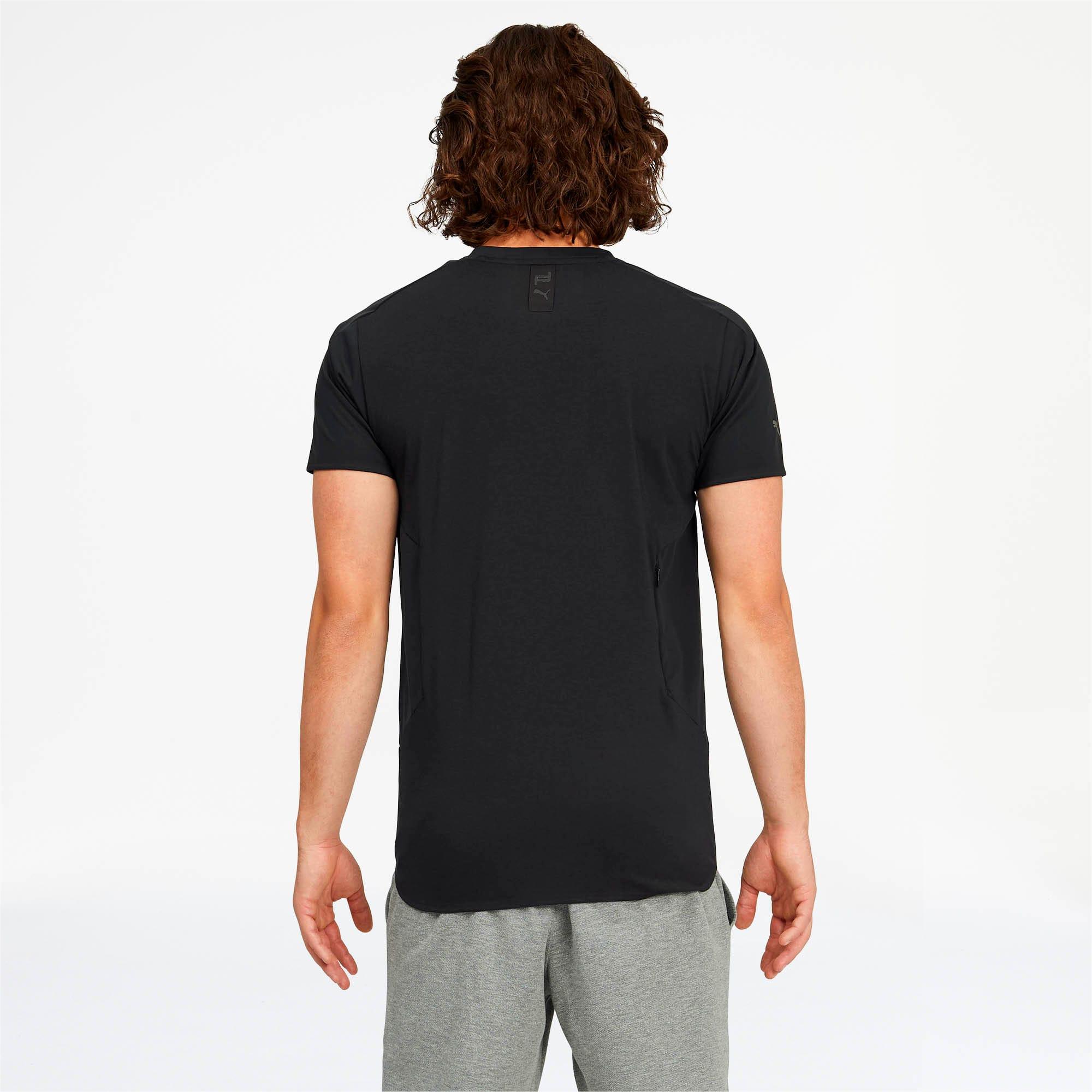 Miniatura 2 de Camiseta Porsche Design RCT para hombre, Jet Black, mediano