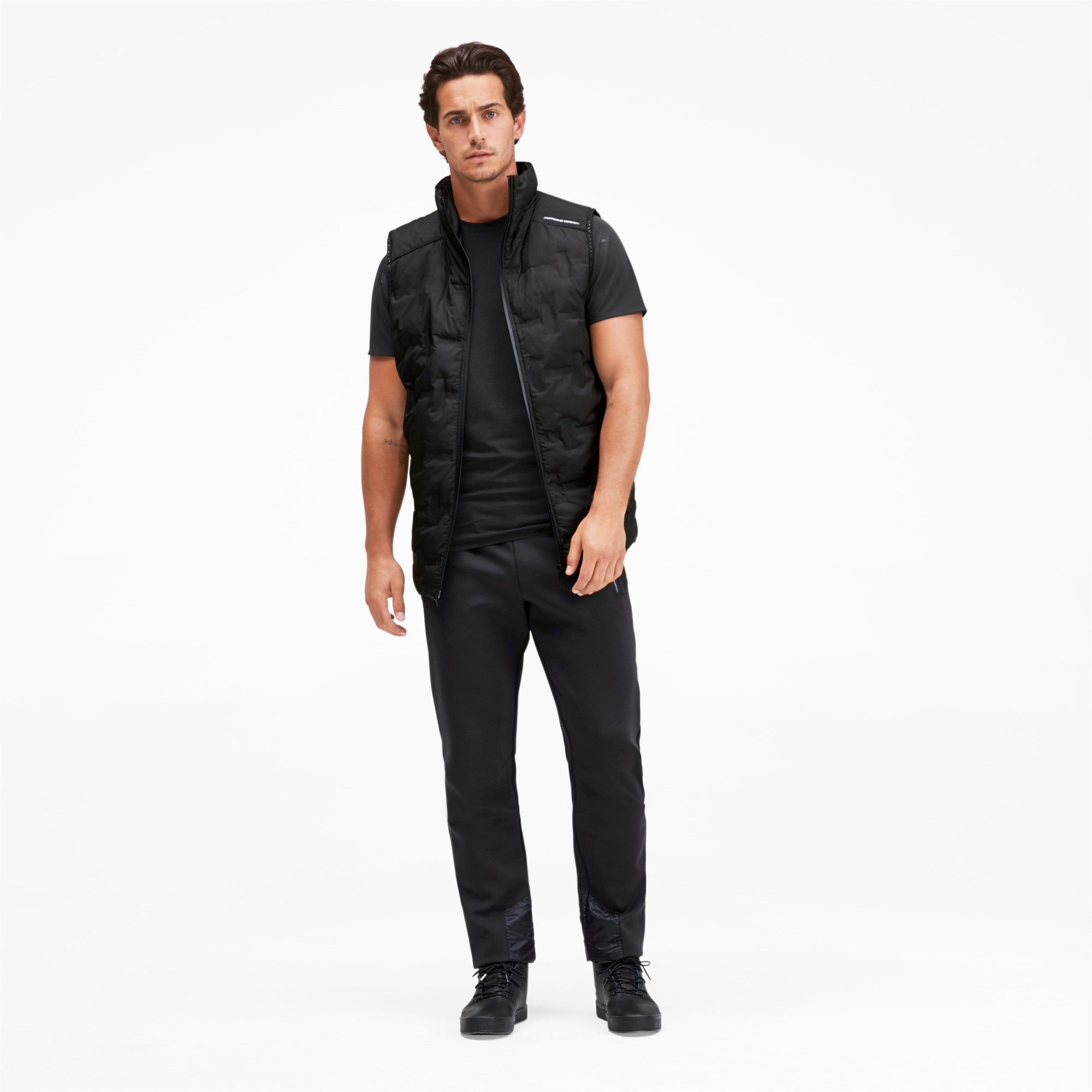 Thumbnail 3 of Porsche Design RCT Men's Tee, Jet Black, medium