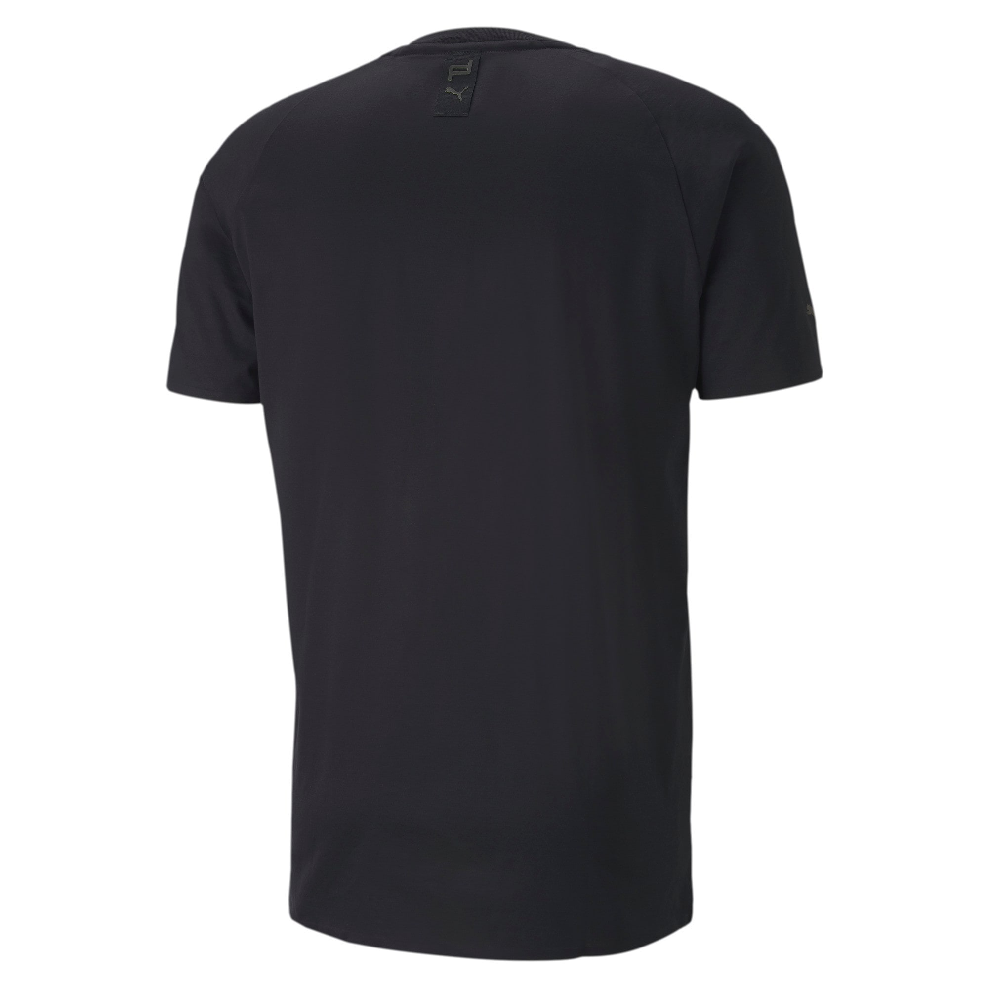 Thumbnail 5 of Porsche Design Men's Essential Tee, Jet Black, medium