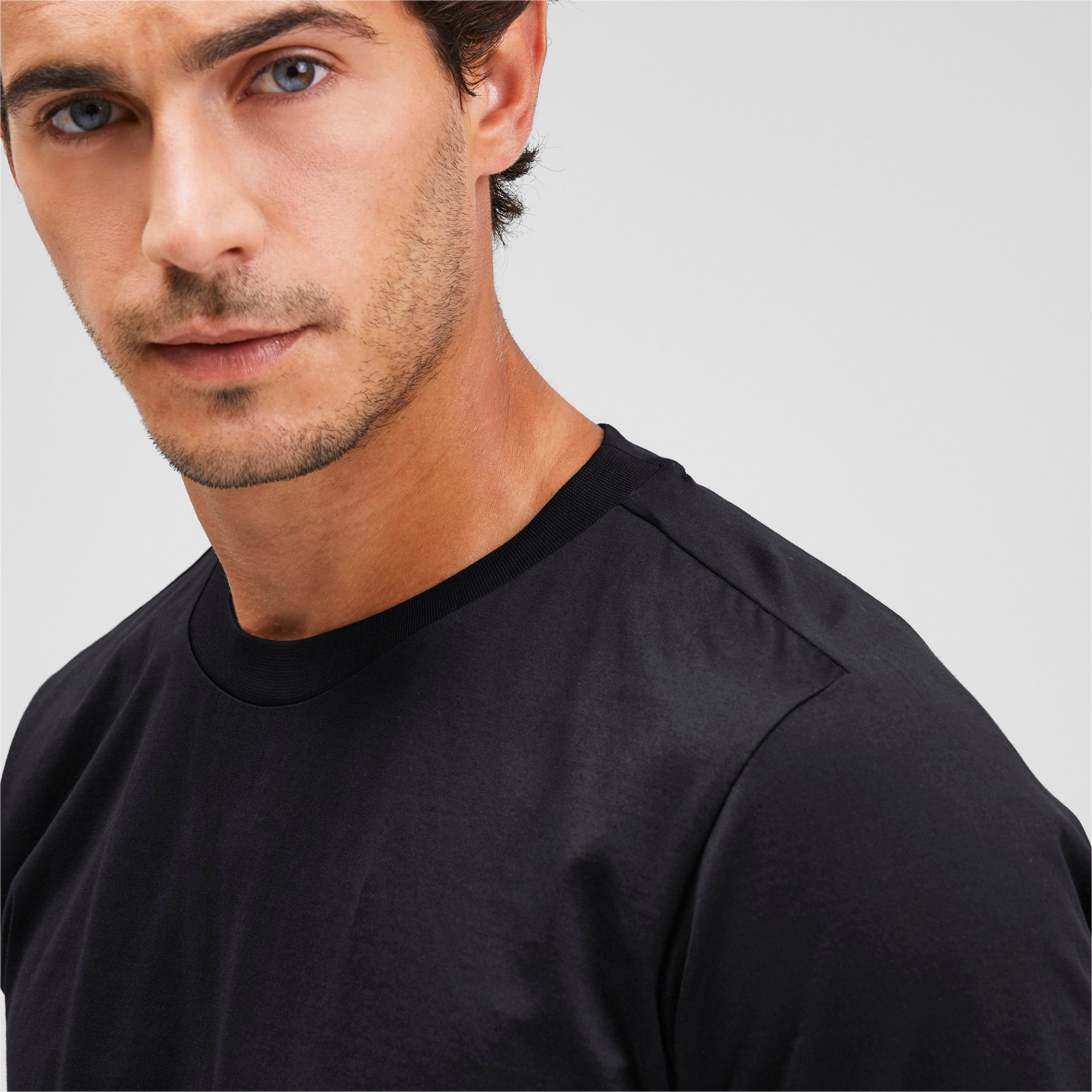 Thumbnail 6 of Porsche Design Men's Essential Tee, Jet Black, medium