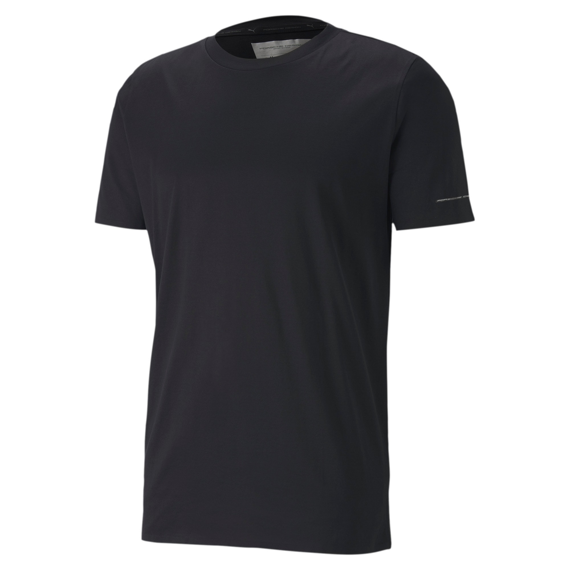 Thumbnail 4 of Porsche Design Men's Essential Tee, Jet Black, medium
