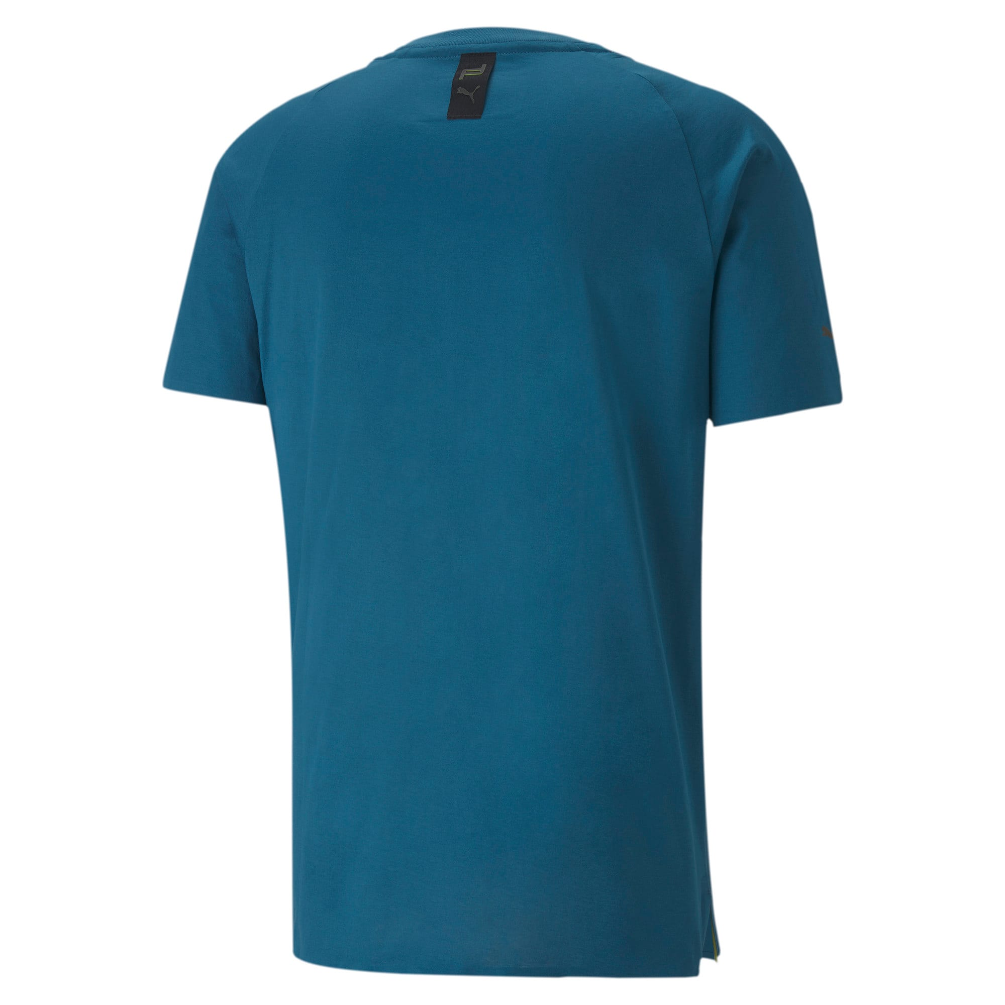 Thumbnail 5 of Porsche Design Men's Essential Tee, Moroccan Blue, medium